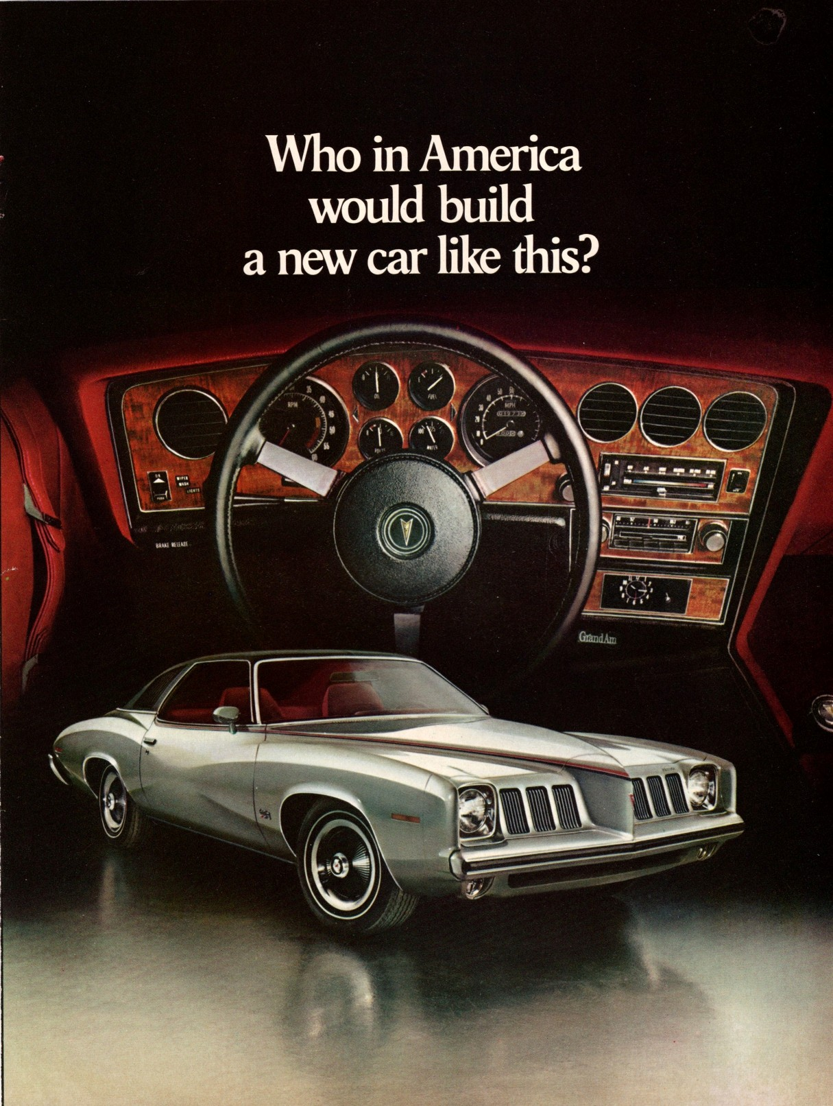 Pontiac Grand Am 1973 For mobile