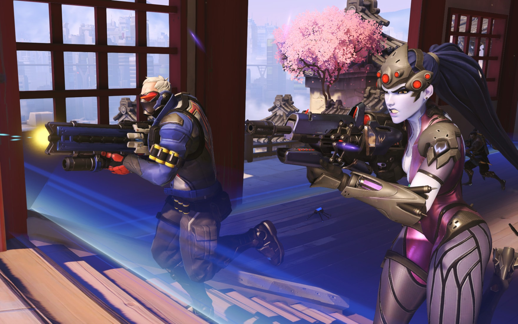Overwatch : Soldier: 76 Full hd wallpapers