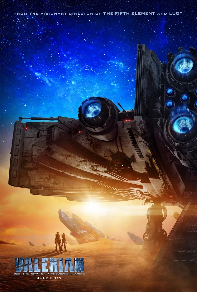 Valerian and the City of a Thousand Planets For mobile