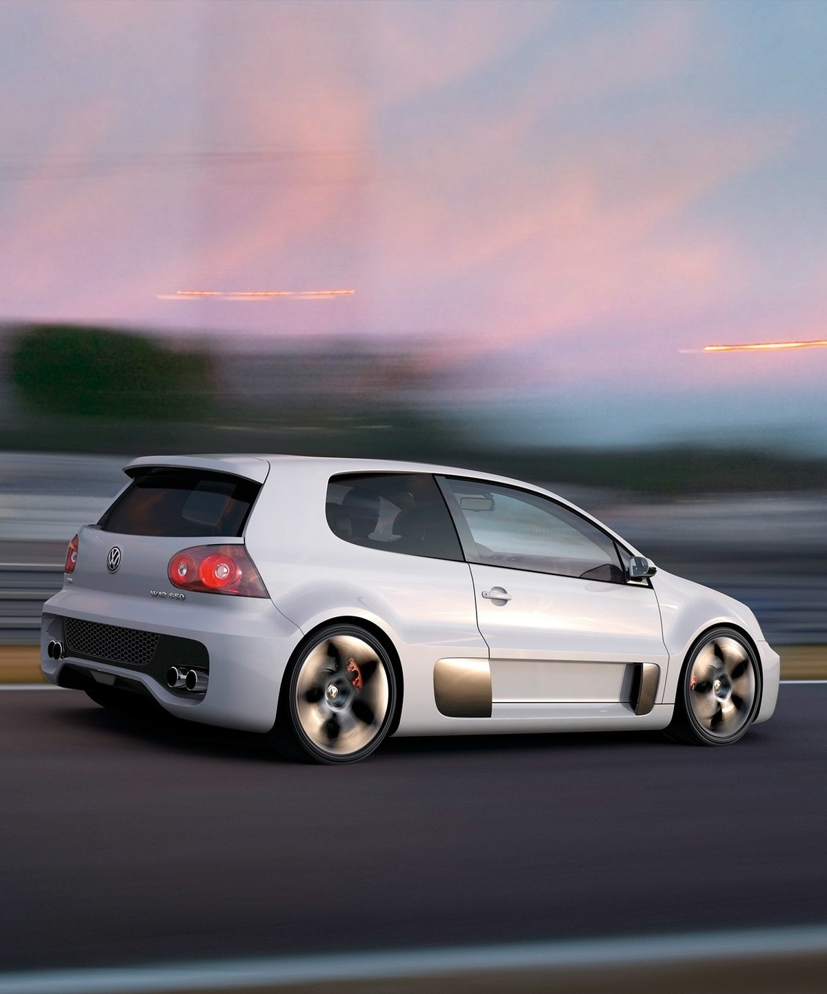 Volkswagen Golf GTI W12-650 Concept For mobile