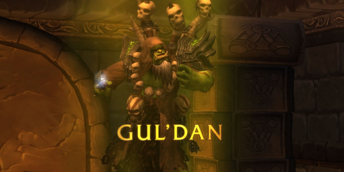 WOW: Gul'dan HD pictures