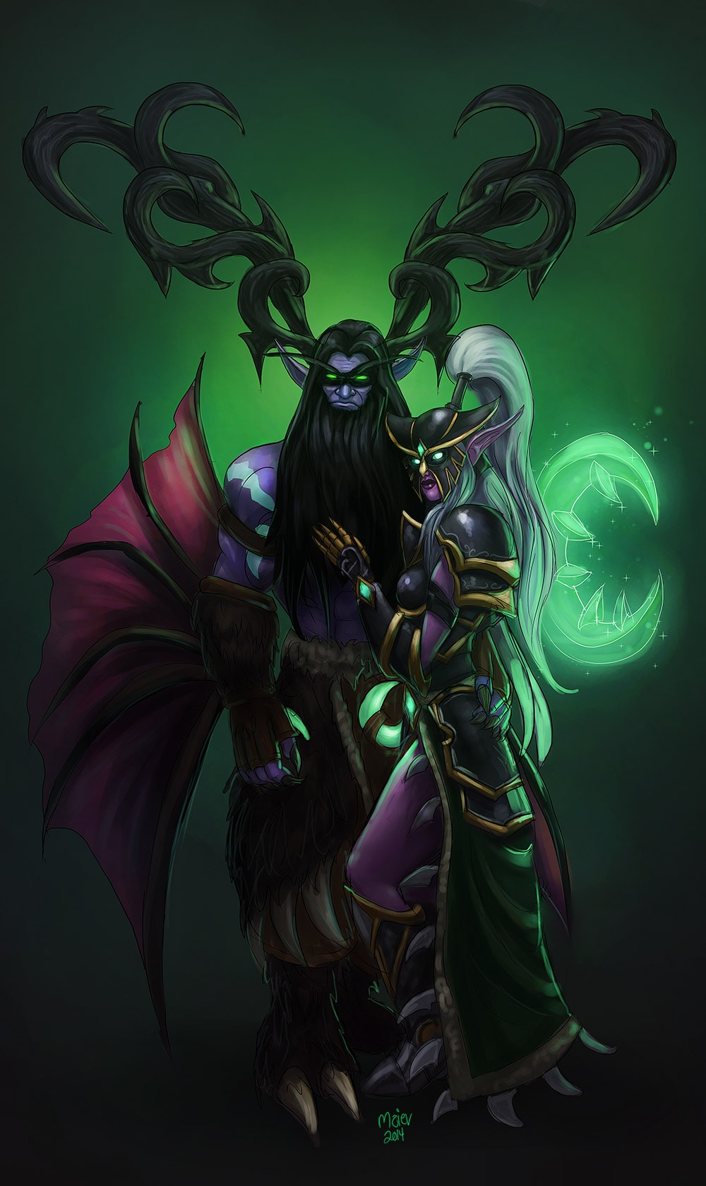 WOW: Malfurion Stormrage for mobile