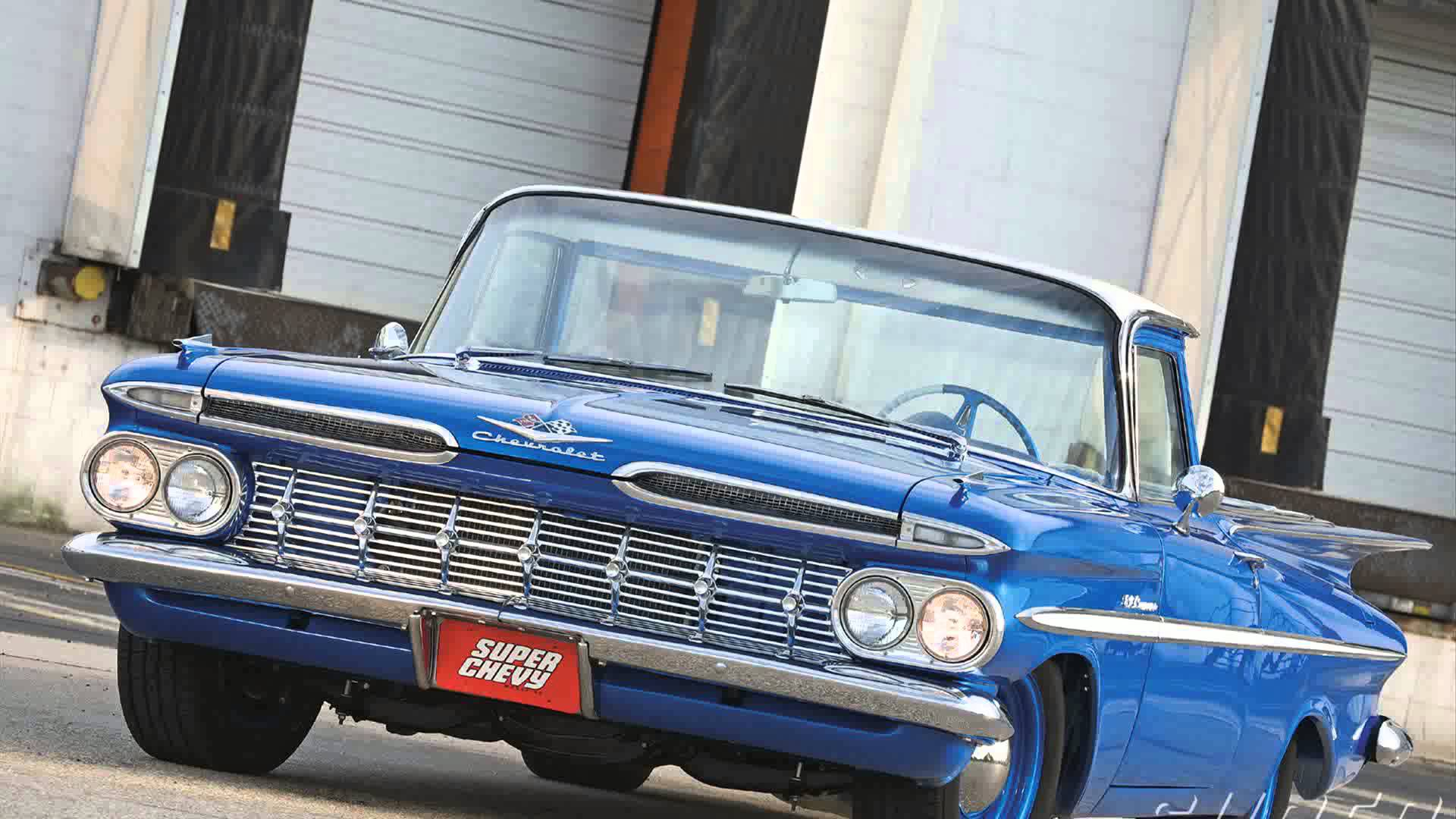 1959 Chevrolet El Camino Widescreen for desktop