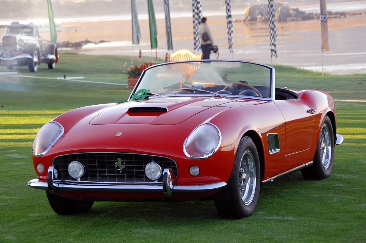 1961 Ferrari 250 GT California Widescreen for desktop