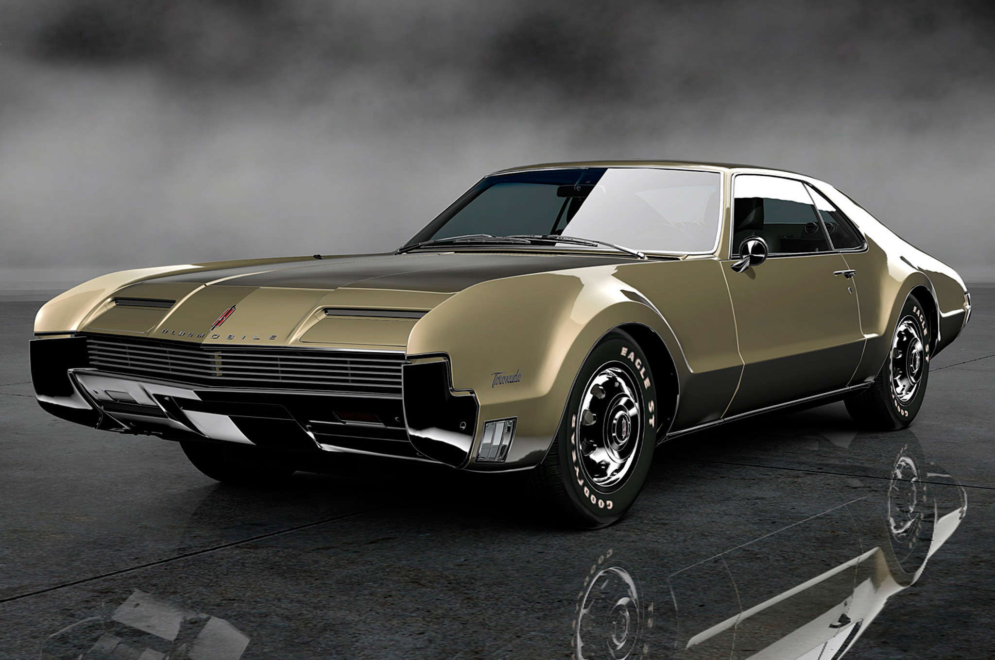 1966 Oldsmobile Toronado Widescreen for desktop