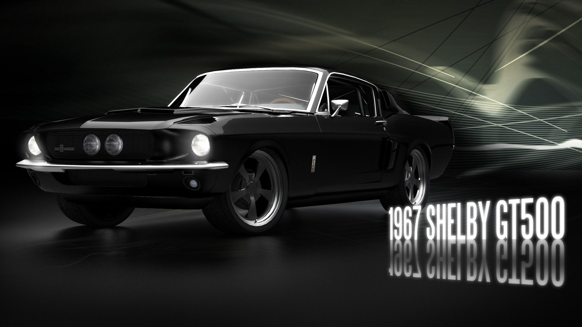 1967 Shelby GT500 Widescreen for desktop
