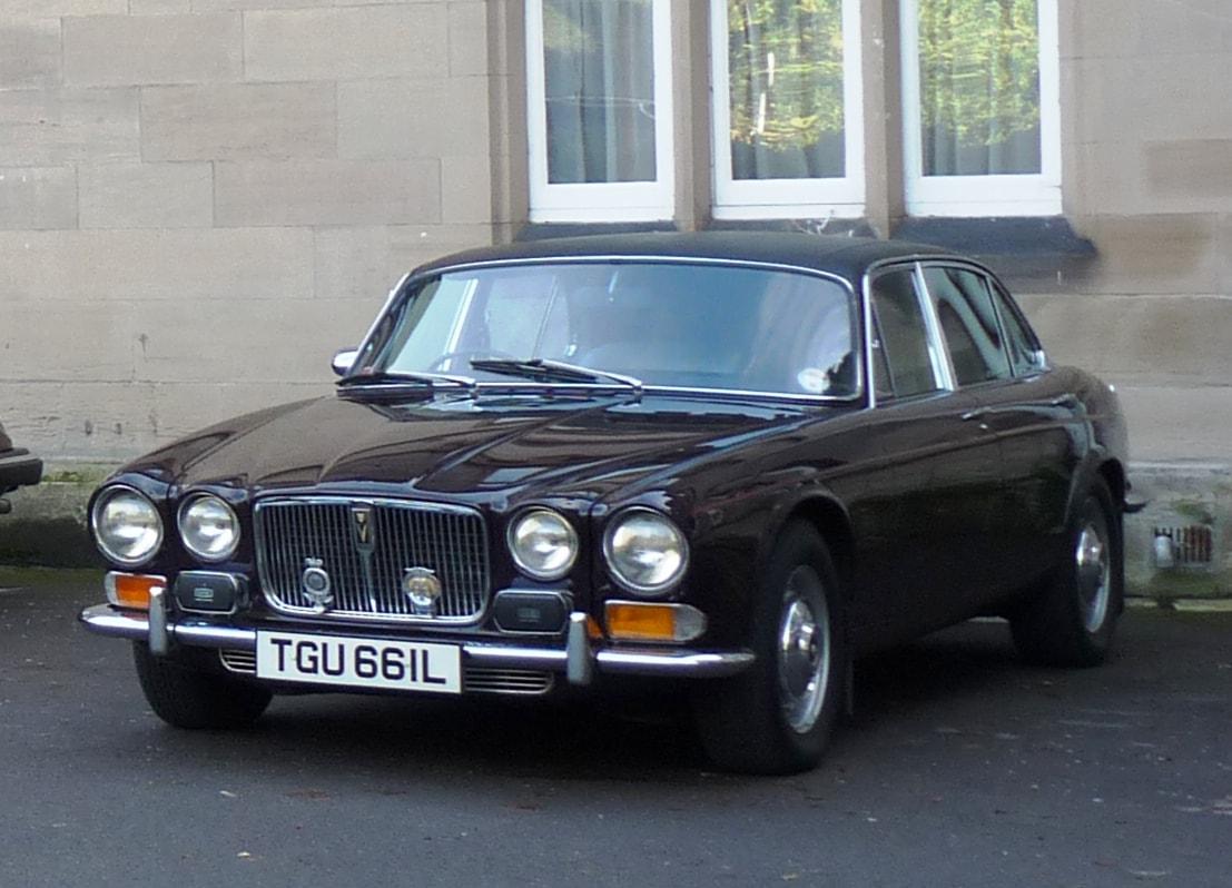 1968 Jaguar XJ6 Widescreen for desktop