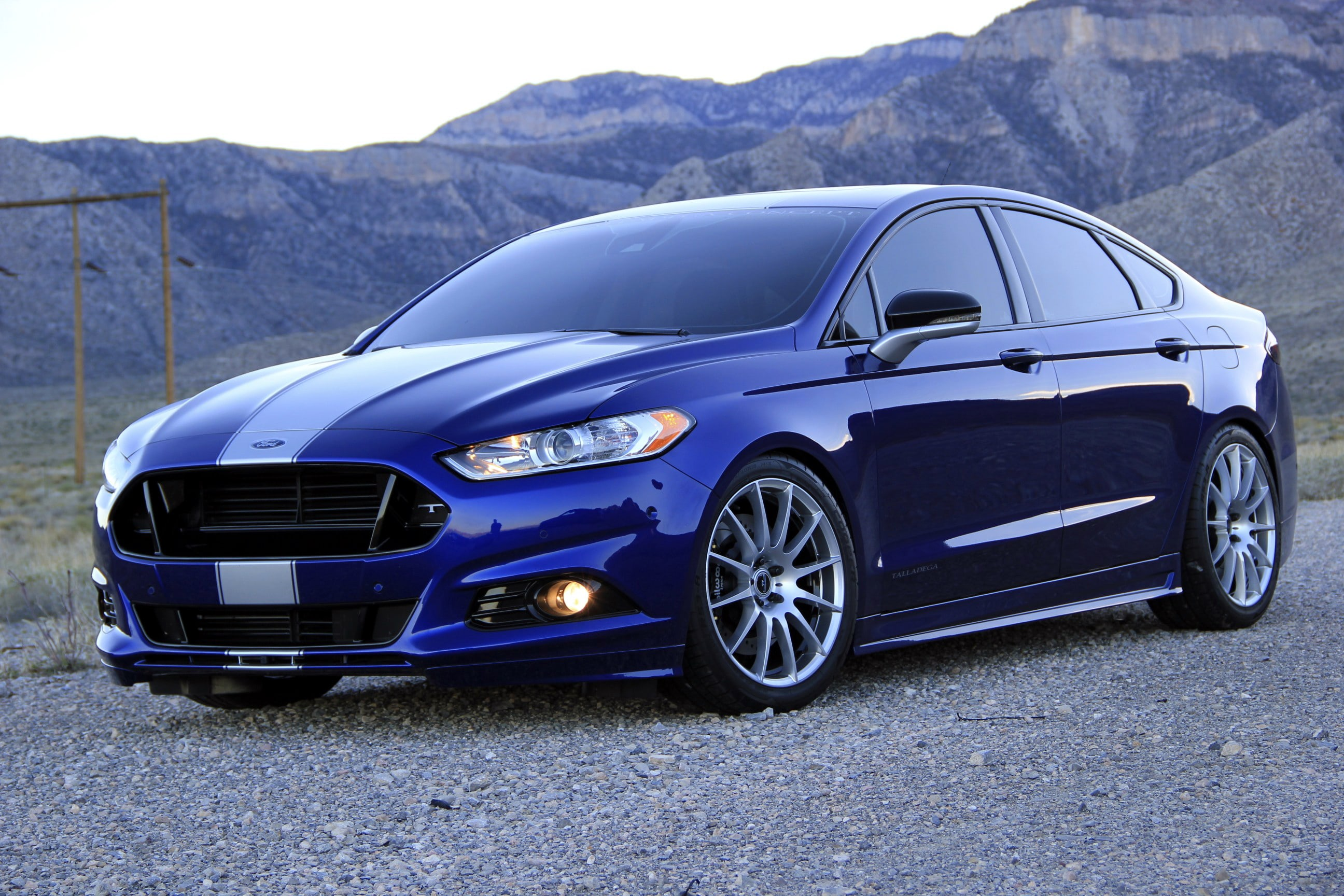 2013 Ford Fusion Widescreen for desktop