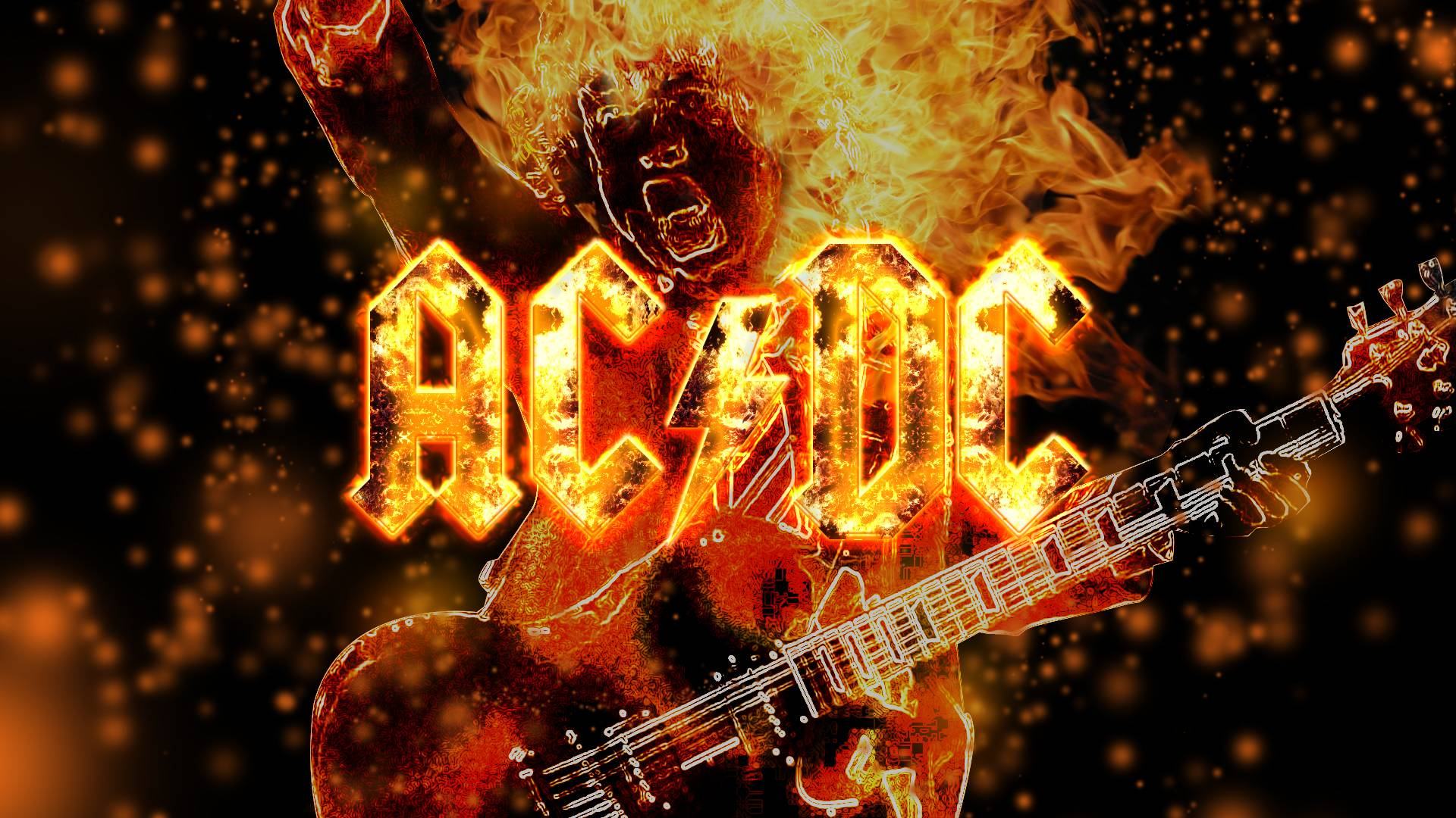 AC/DC Widescreen for desktop