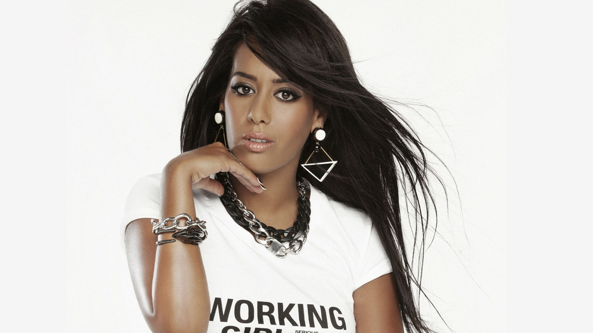 Amel Bent Widescreen for desktop