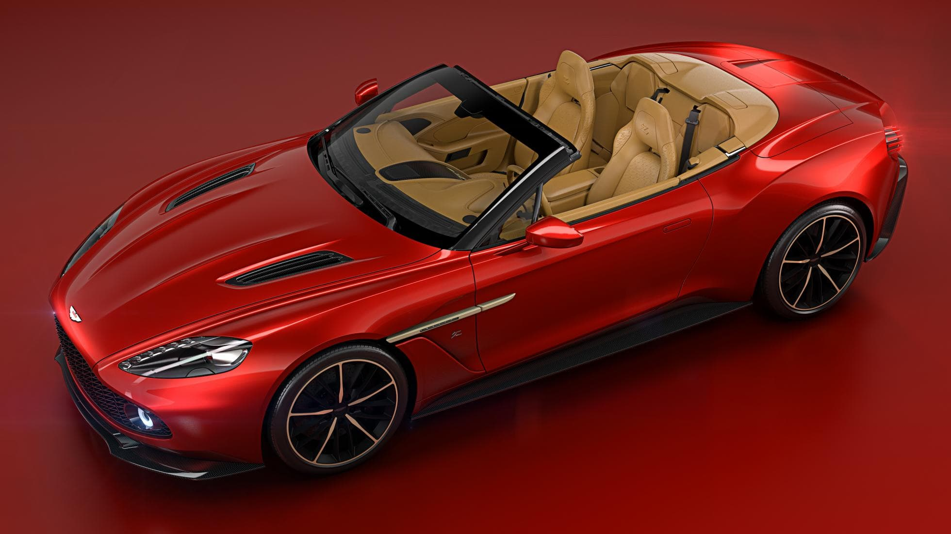 Aston Martin Vanquish Zagato Widescreen for desktop