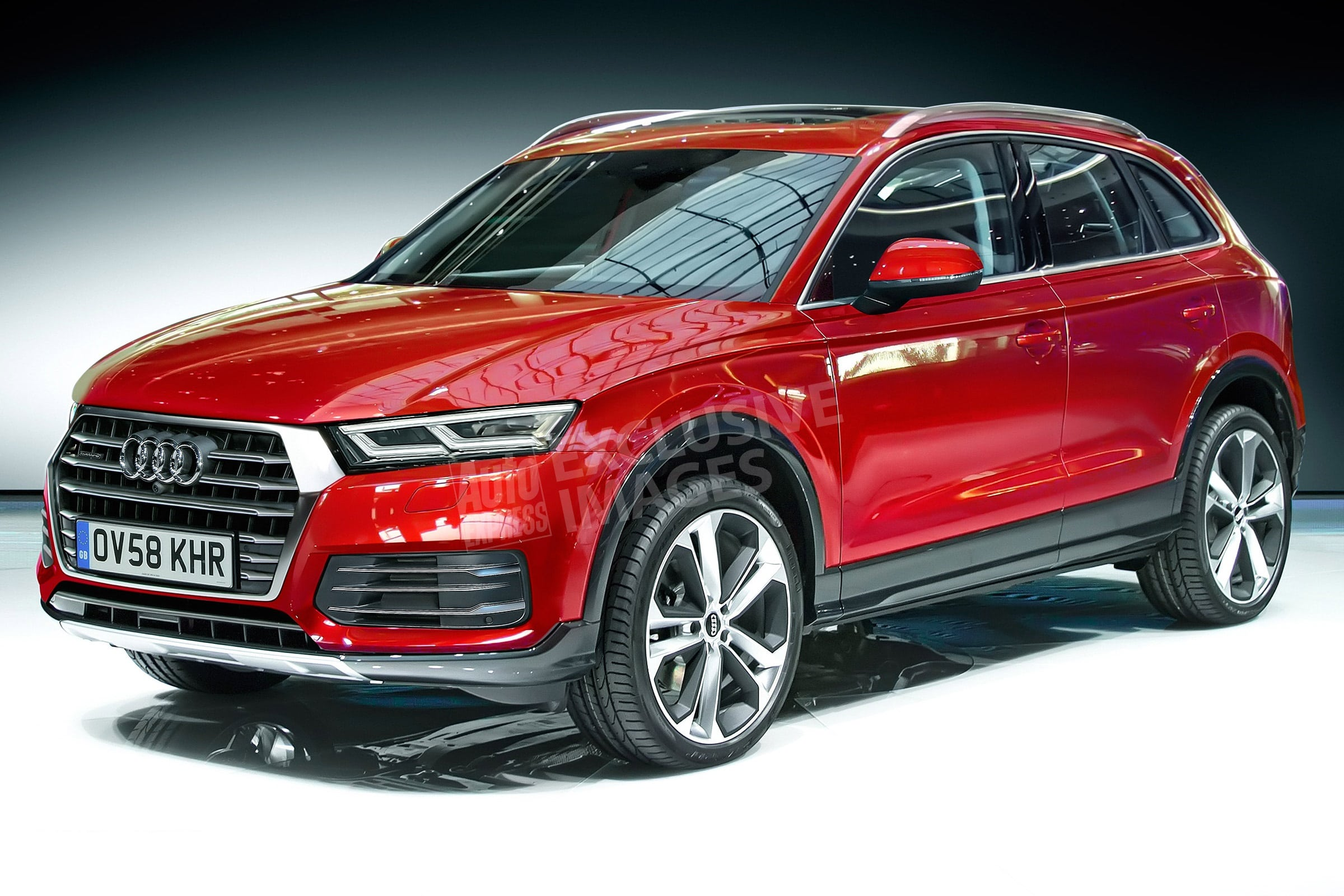 Audi Q5 II Widescreen for desktop