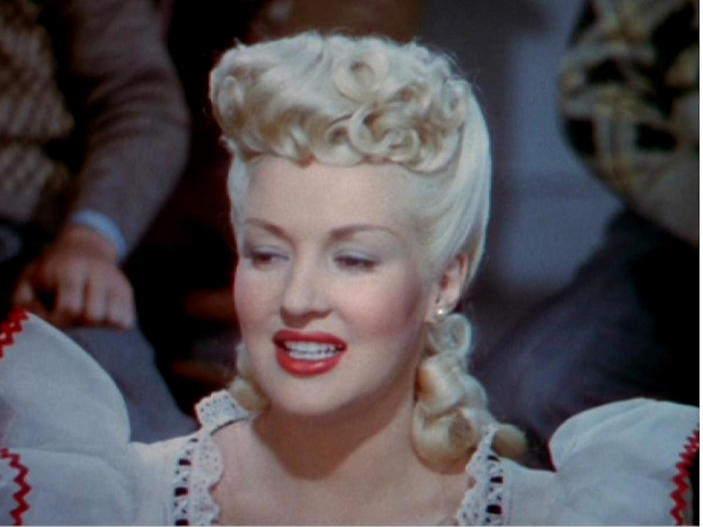Betty Grable Desktop wallpaper