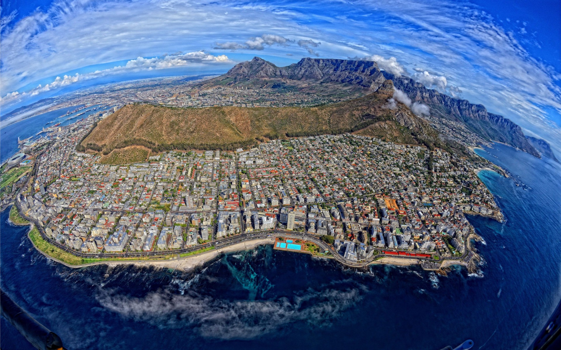 Cape Town widescreen