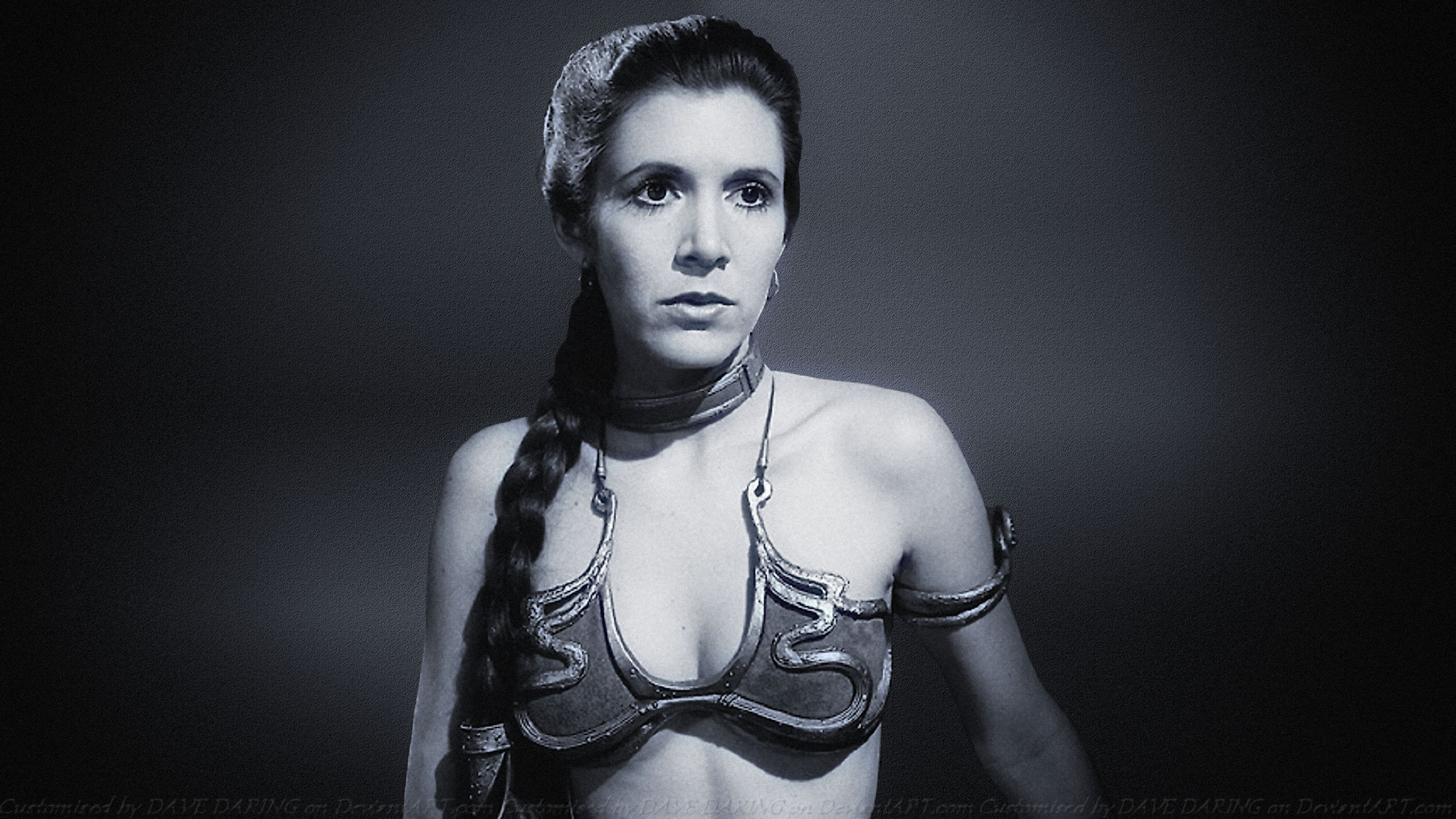 Carrie Fisher Widescreen for desktop