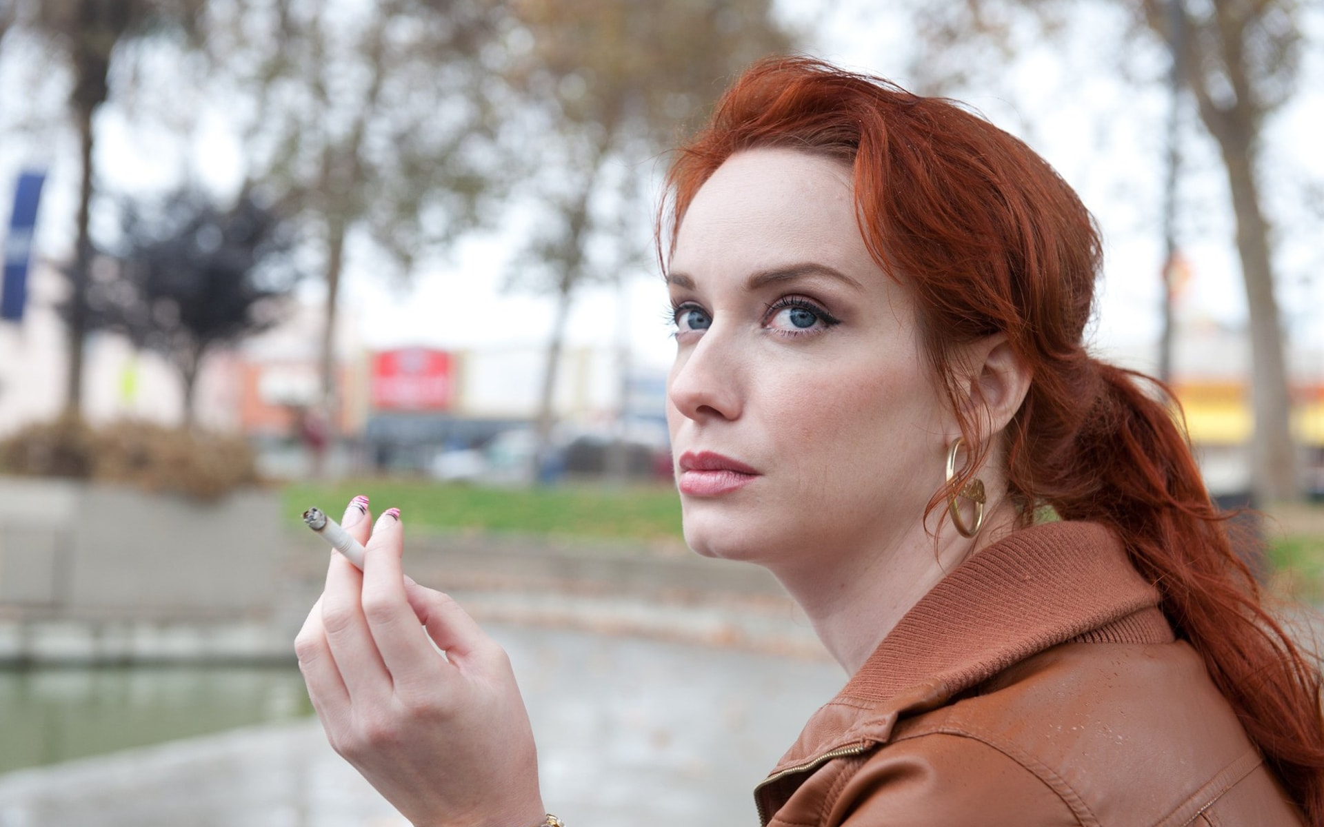 Christina Hendricks Widescreen for desktop