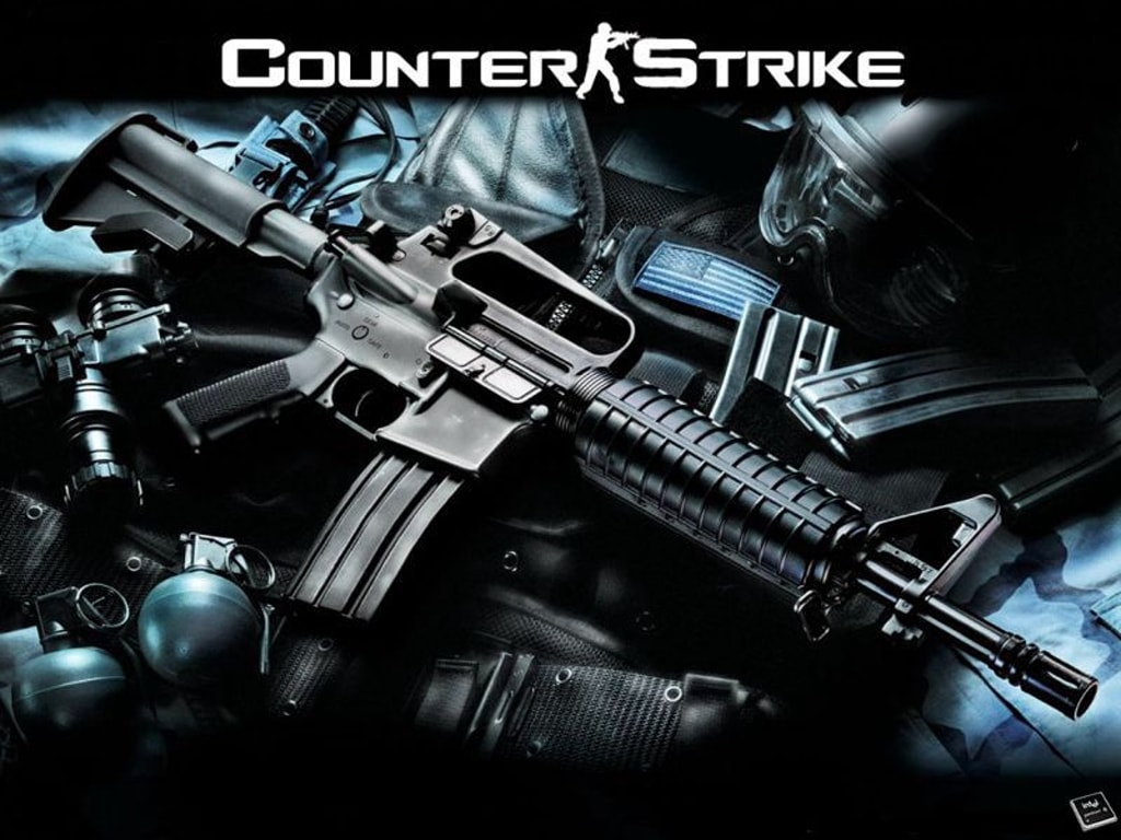 Counter-Strike 1.6 widescreen for desktop