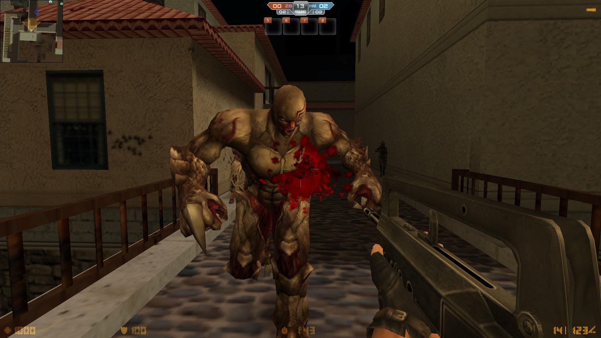 Counter-Strike Nexon: Zombies widescreen for desktop
