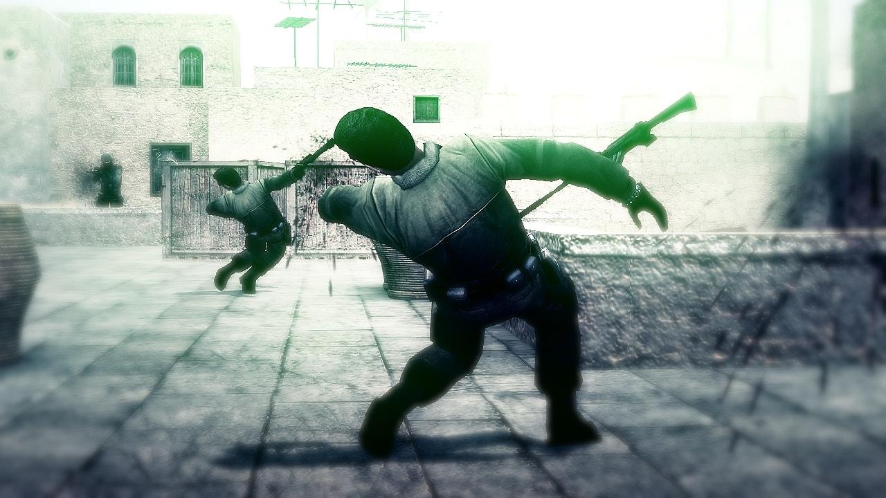 Counter-Strike: Source widescreen for desktop