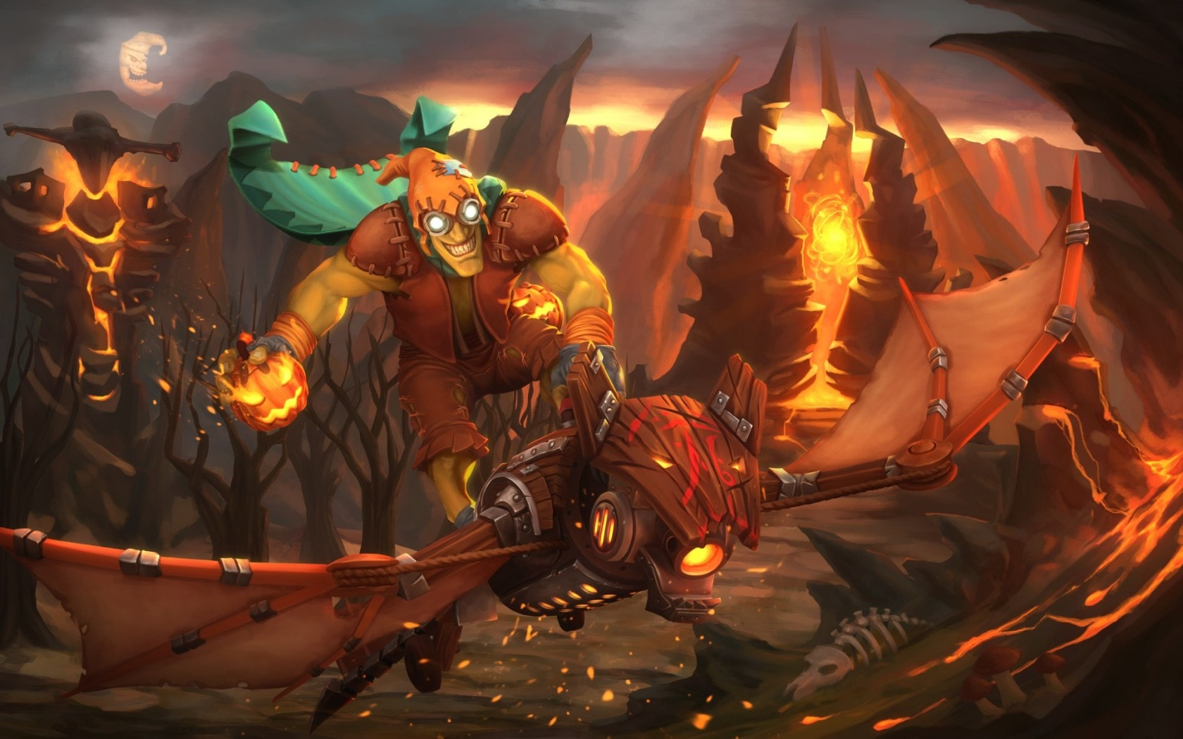 Dota2 : Batrider desktop wallpaper
