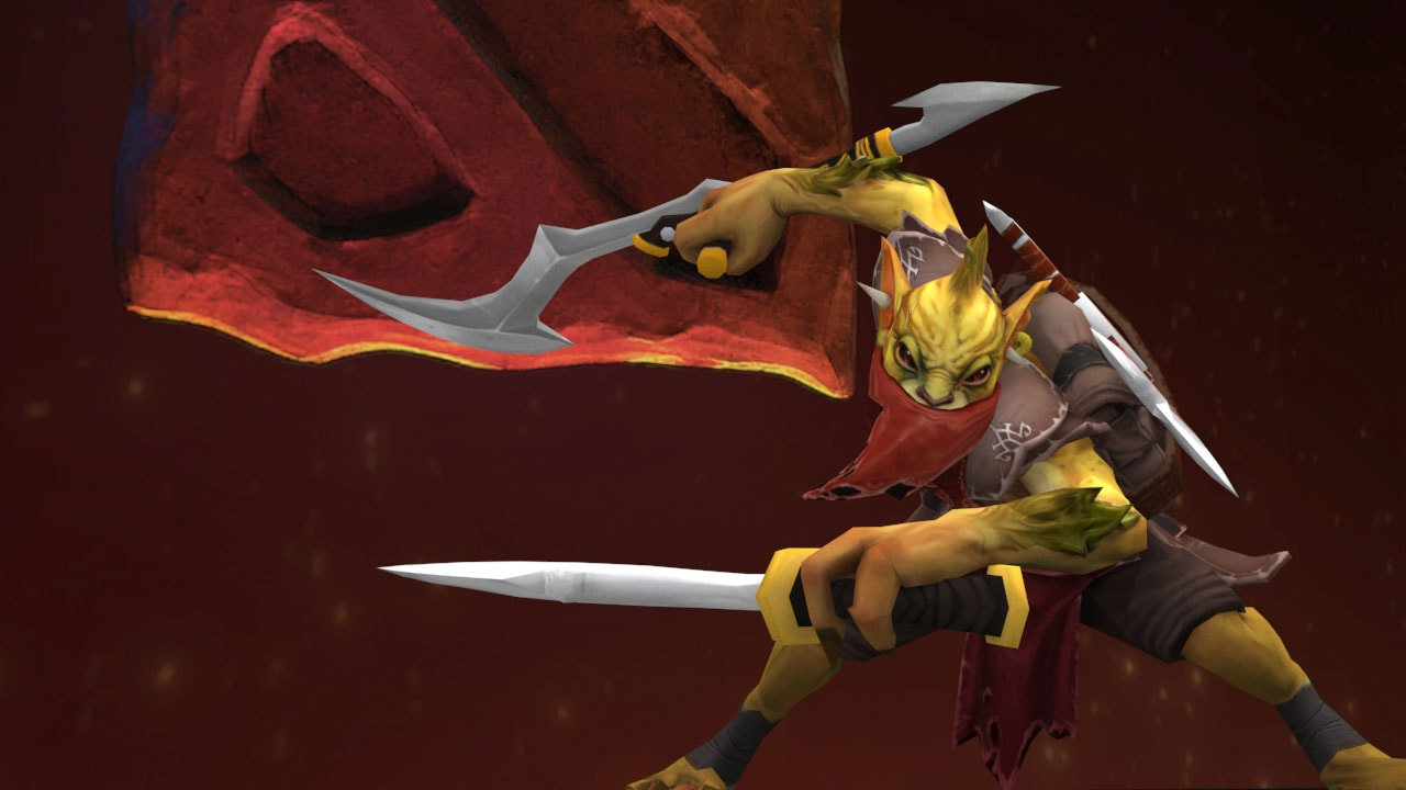 Dota2 : Bounty Hunter desktop wallpaper