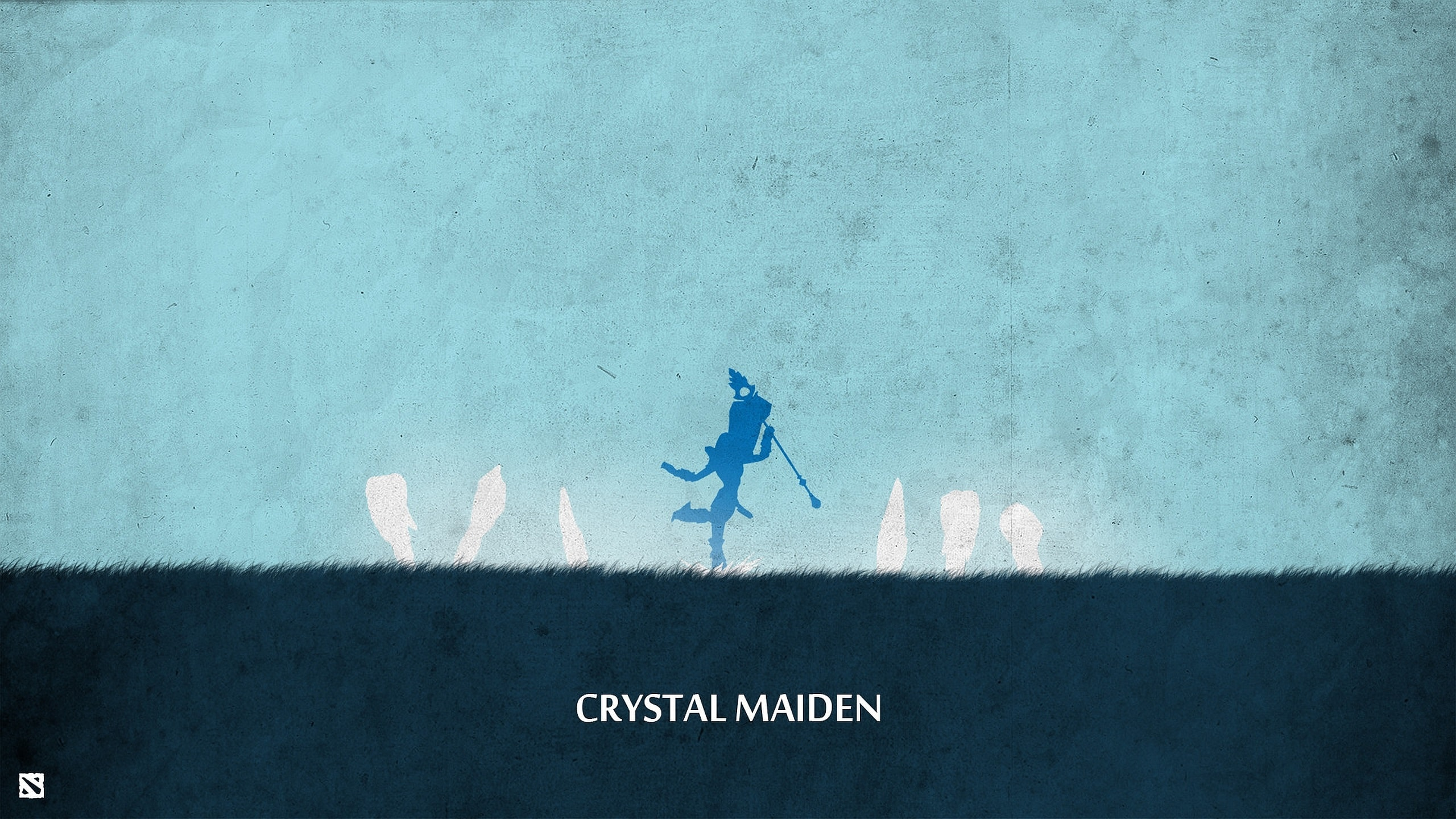 Dota2 : Crystal Maiden widescreen for desktop