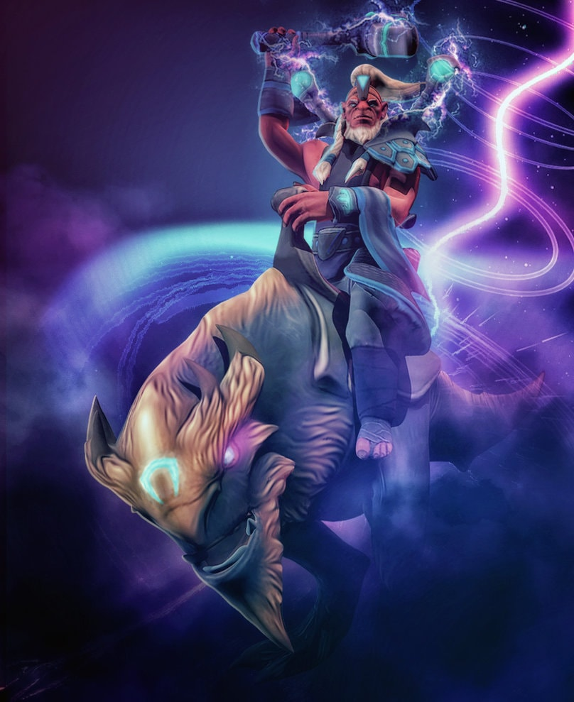 Dota2 : Disruptor for mobile