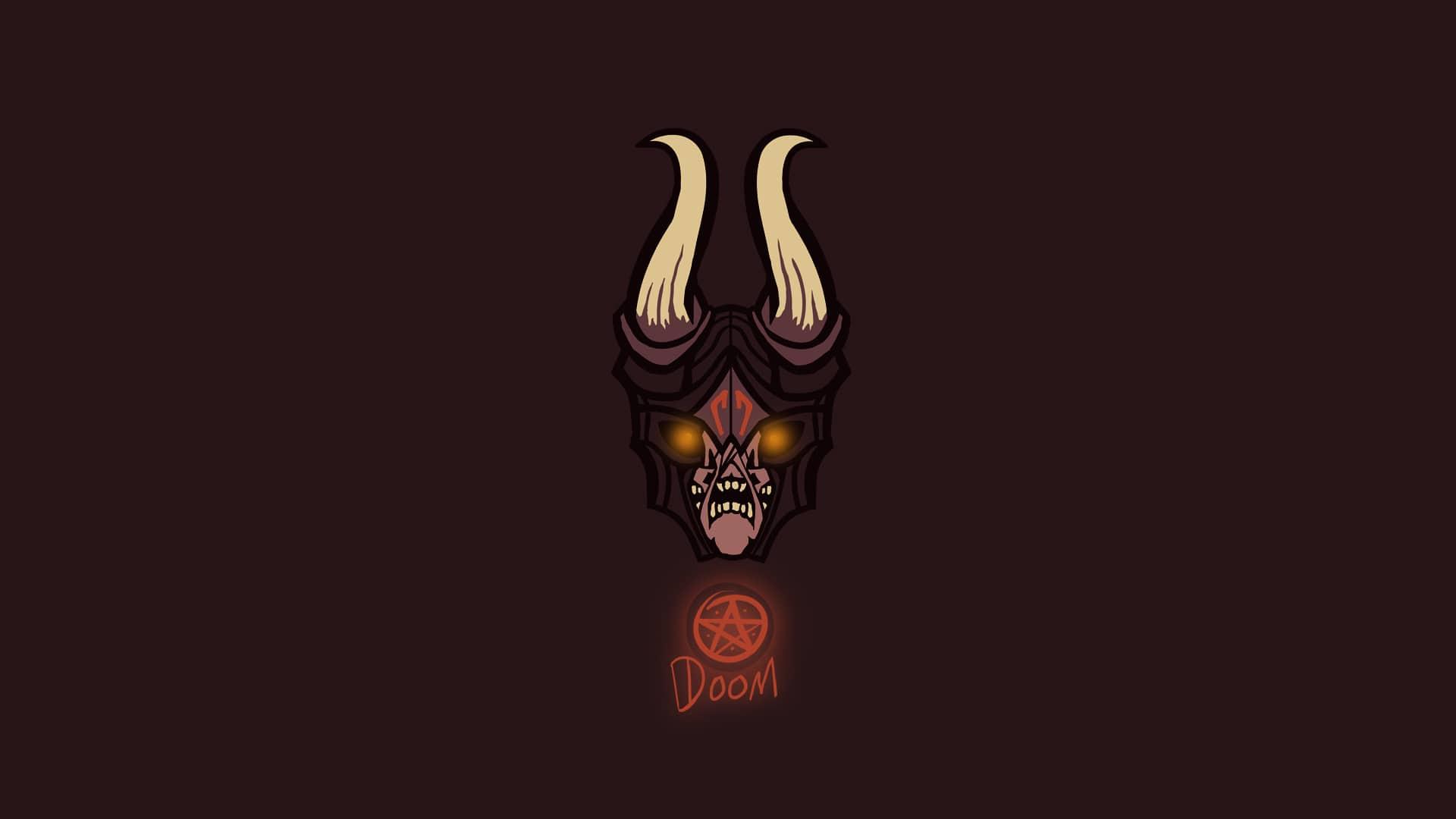 Dota2 : Doom desktop wallpaper