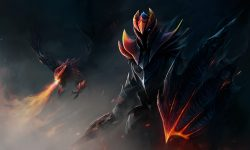 Dota2 : Dragon Knight widescreen for desktop