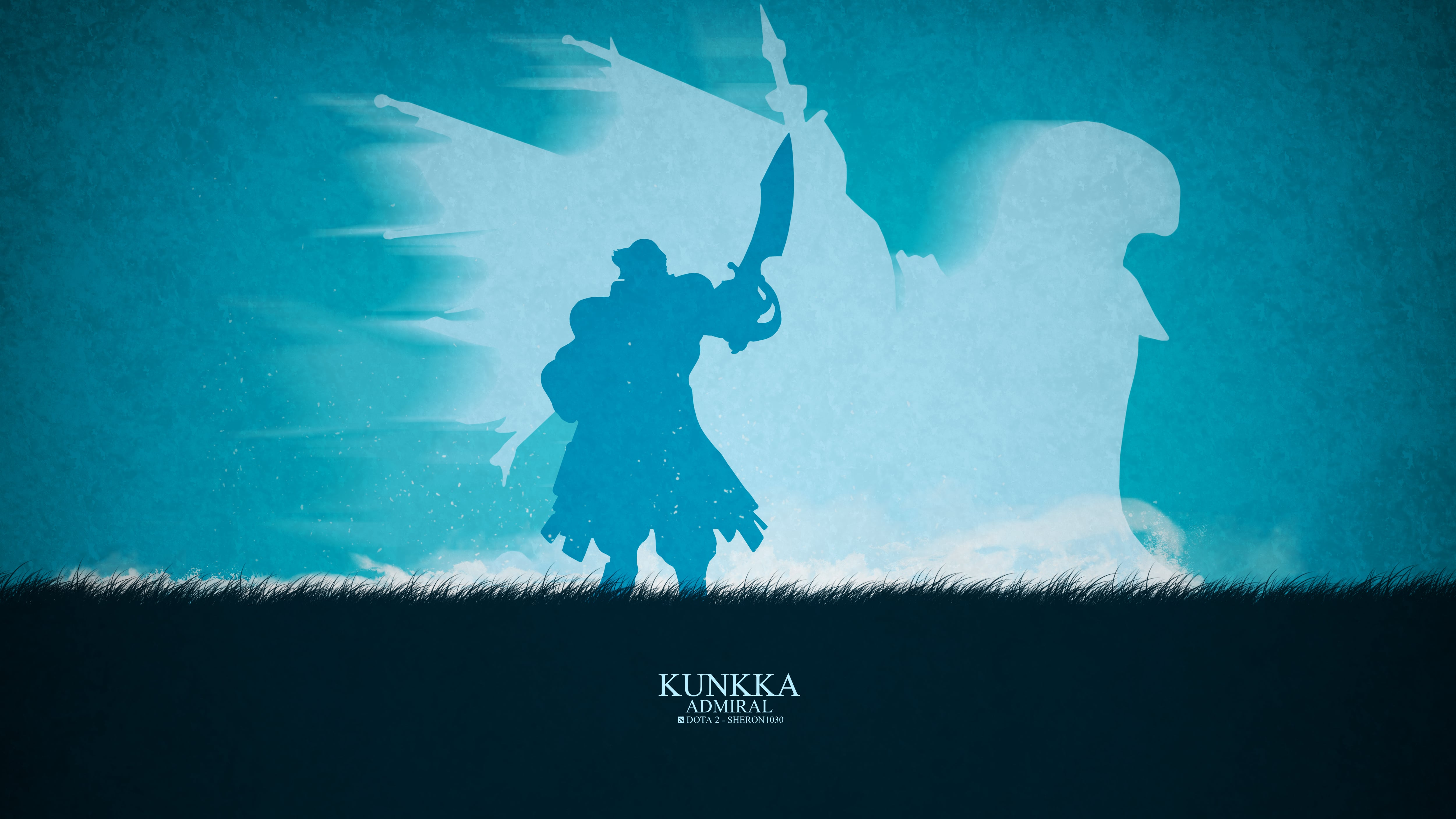 Dota2 : Kunkka Backgrounds
