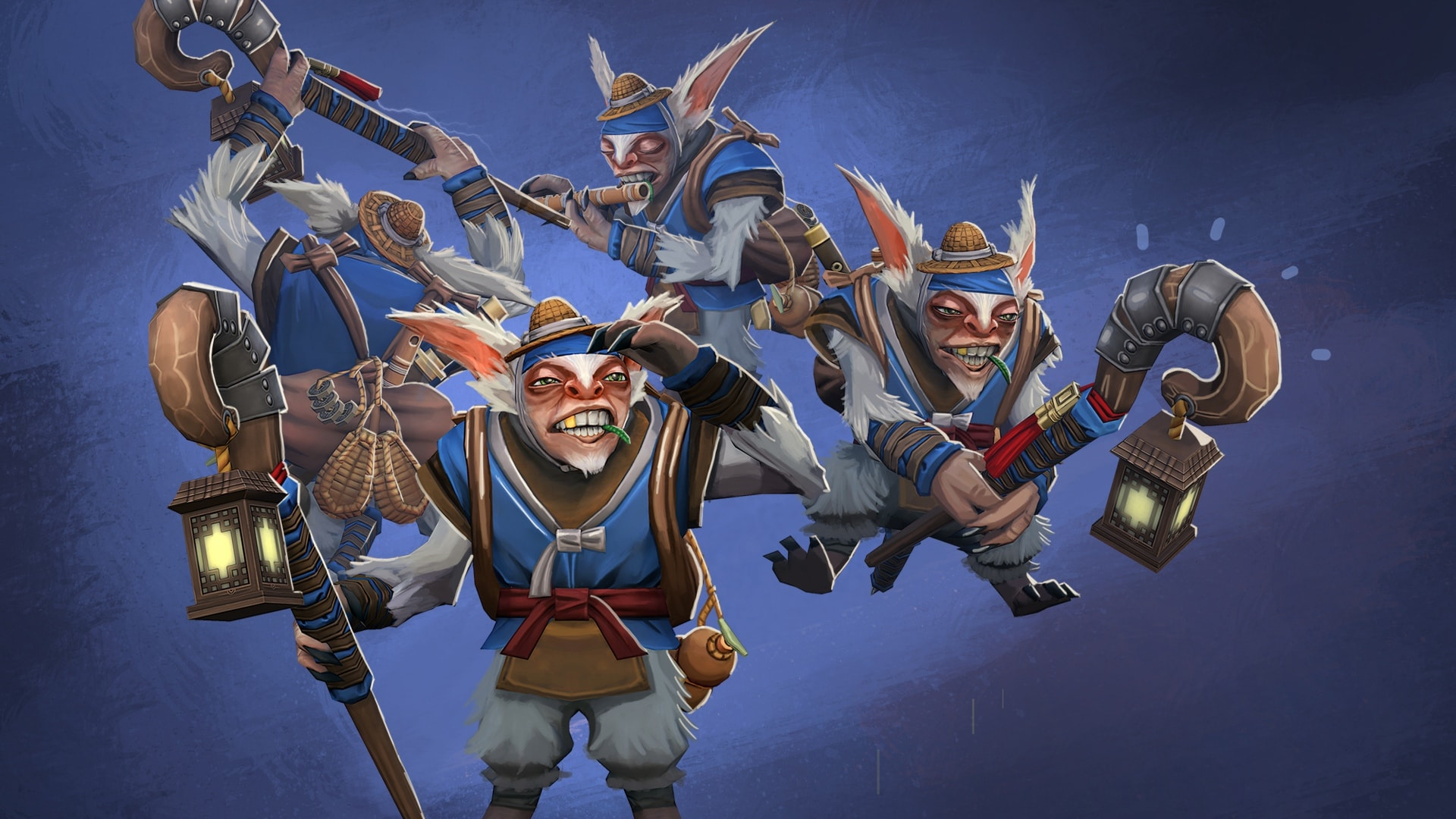 Dota2 : Meepo widescreen for desktop
