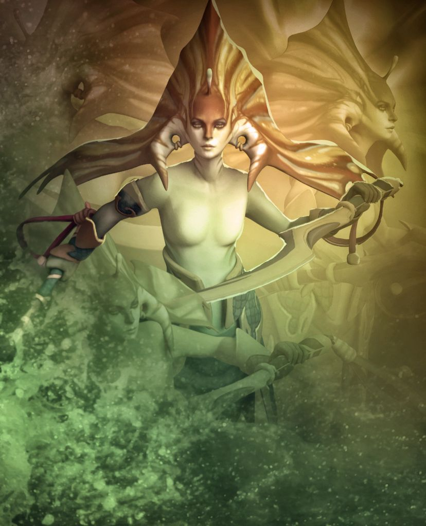 Dota2 : Naga Siren for mobile