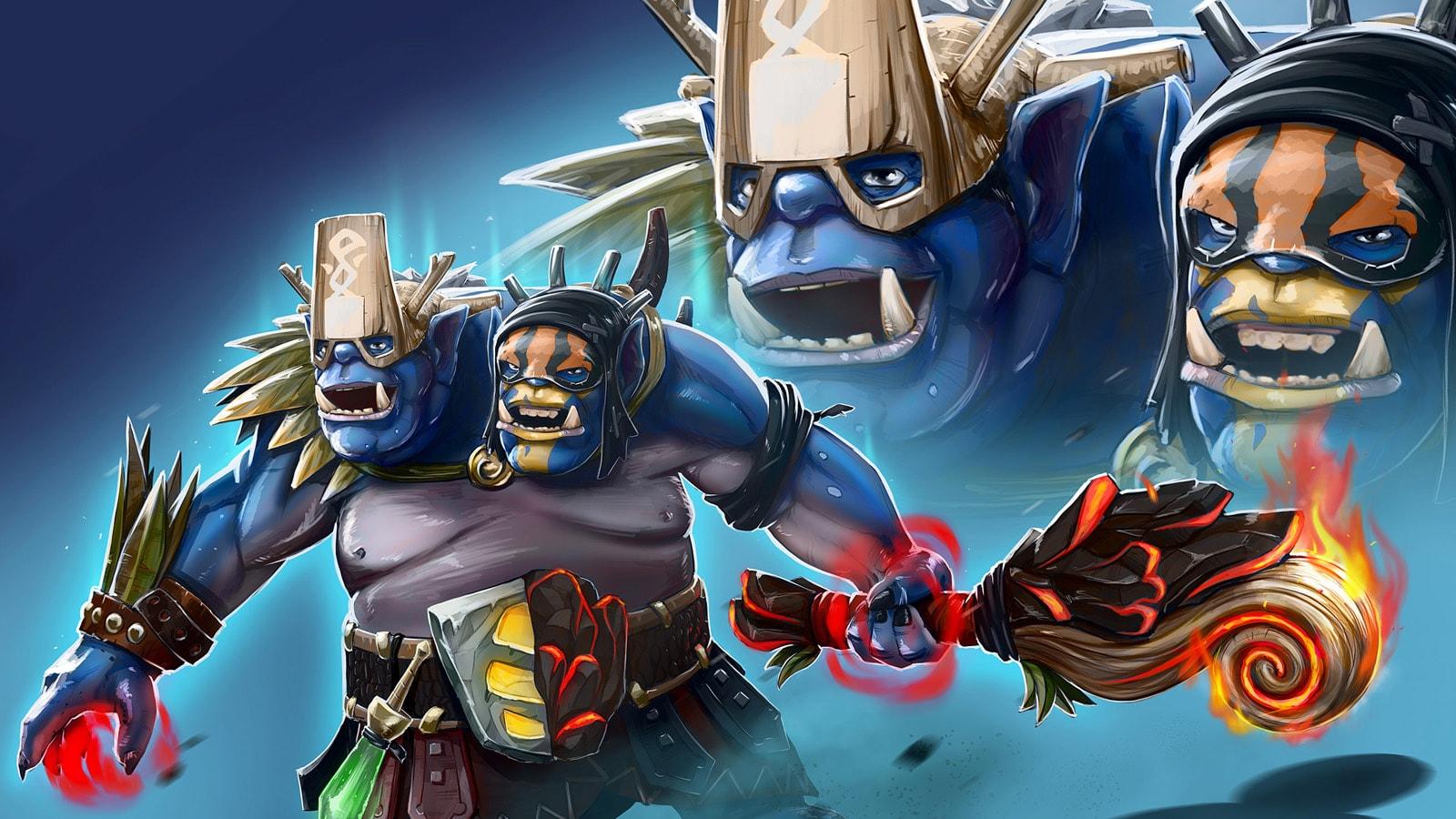 Dota2 : Ogre Magi HD pictures