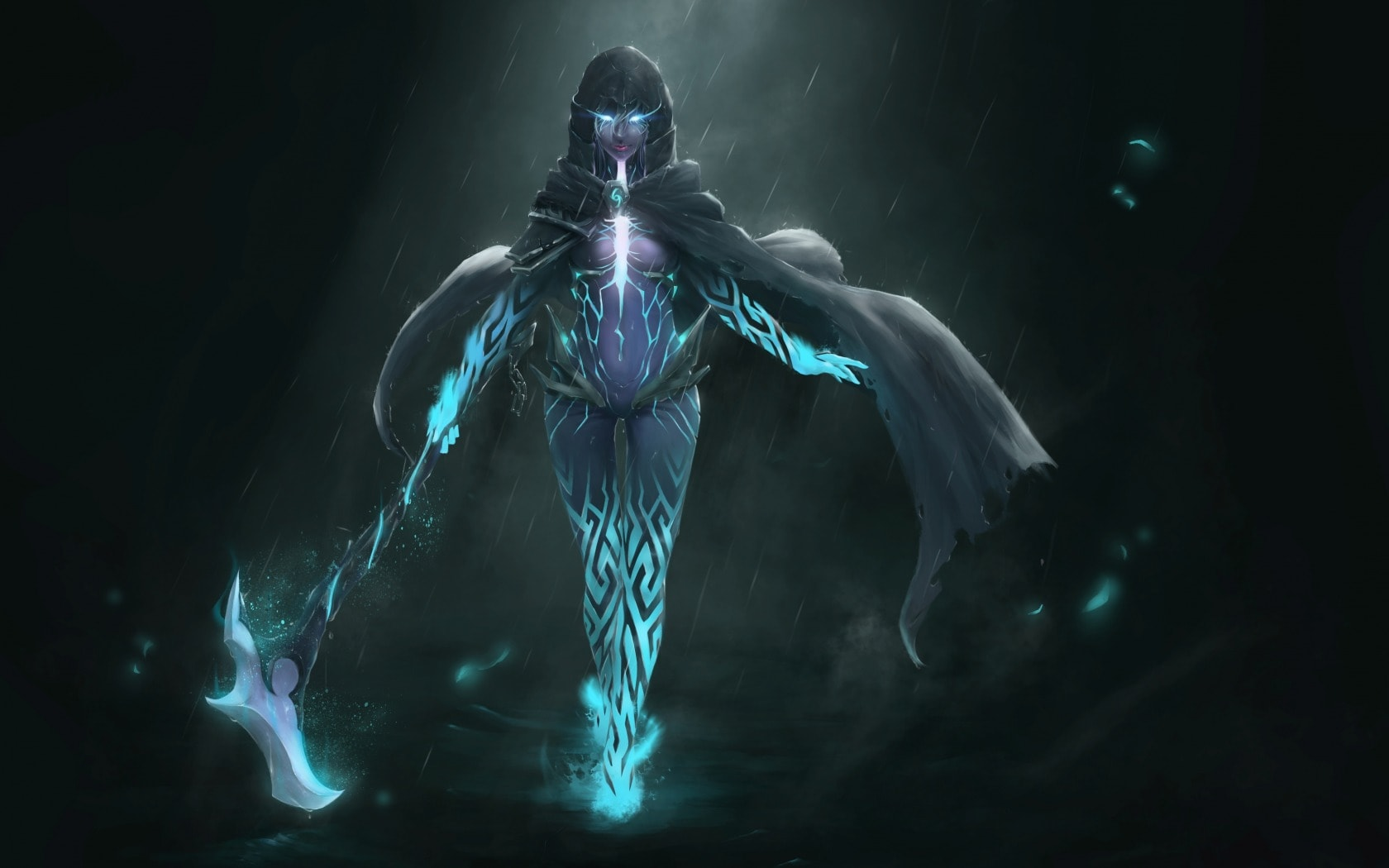 Dota2 Phantom Assassin Desktop Wallpaper