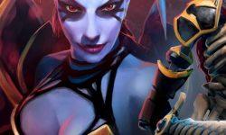 Dota2 : Queen Of Pain desktop wallpaper
