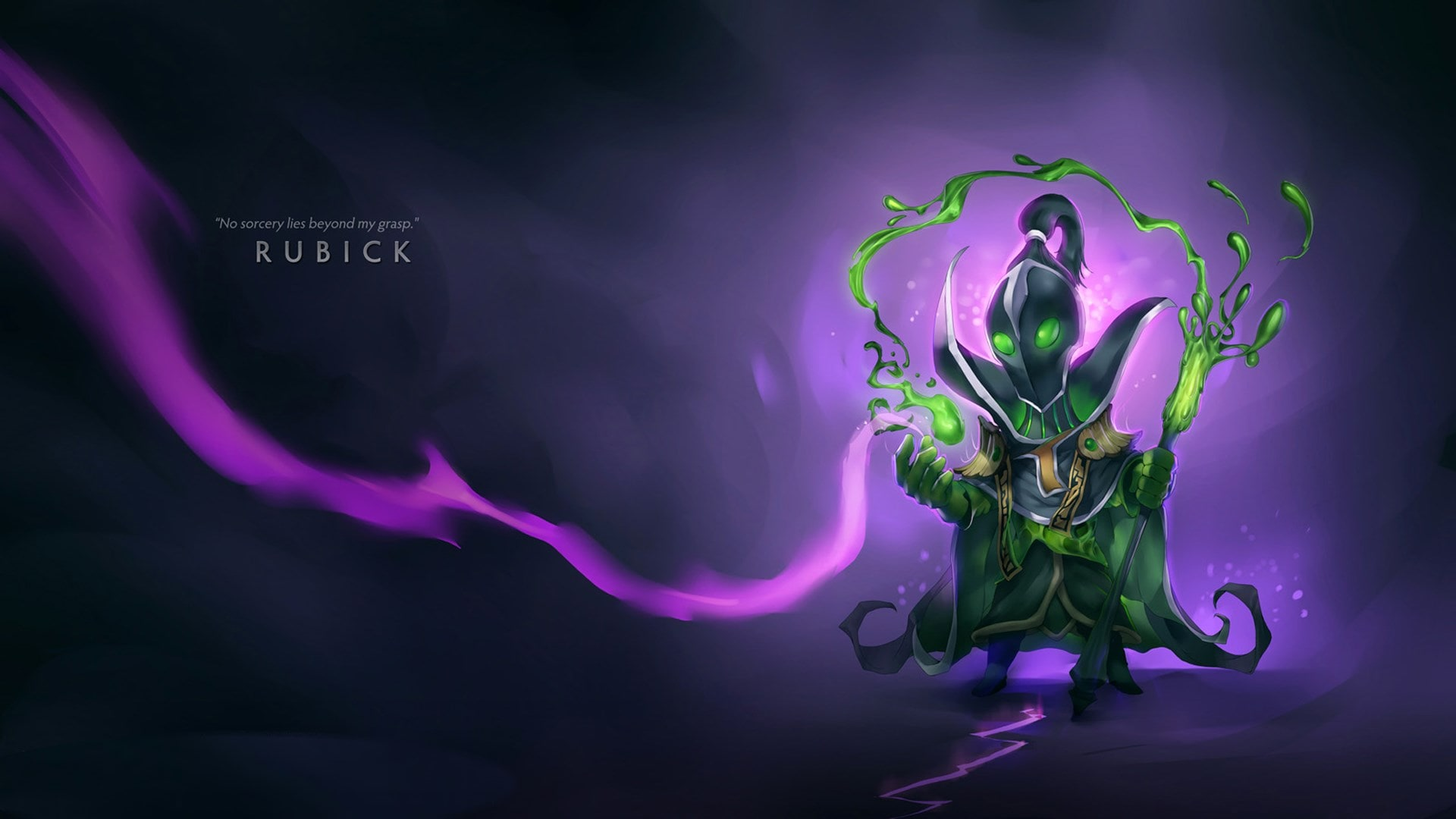 Dota2 : Rubick desktop wallpaper