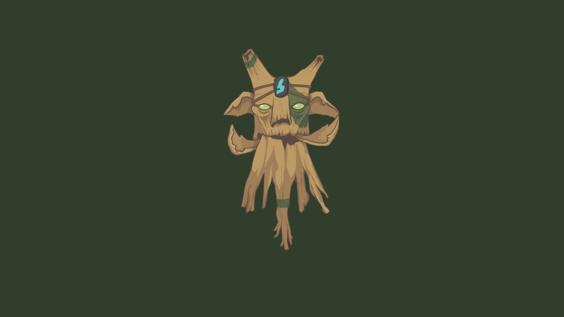 Dota2 : Treant Protector desktop wallpaper