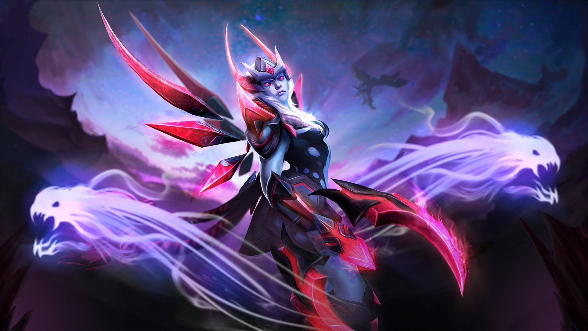 Dota2 : Vengeful Spirit widescreen for desktop