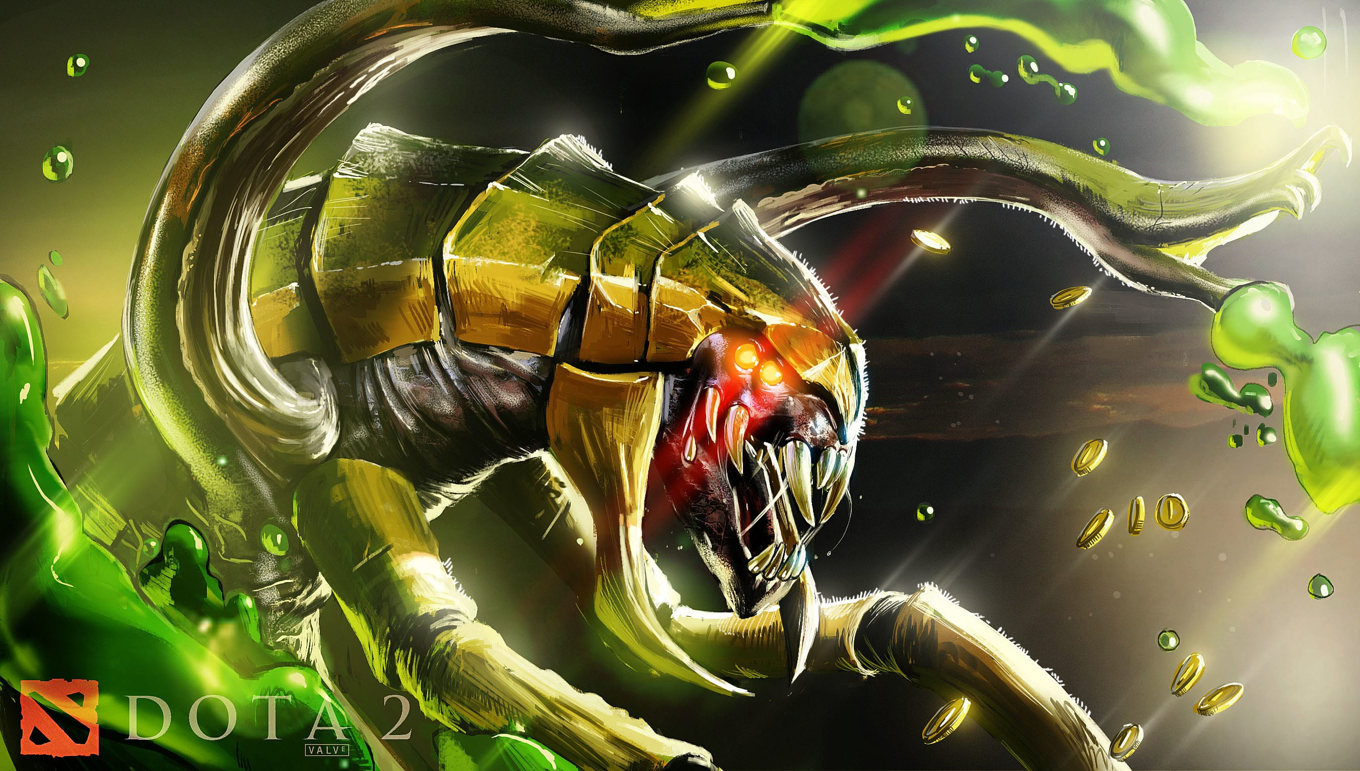 Dota2 : Venomancer widescreen