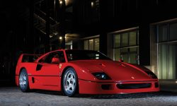 Ferrari F40 Widescreen for desktop