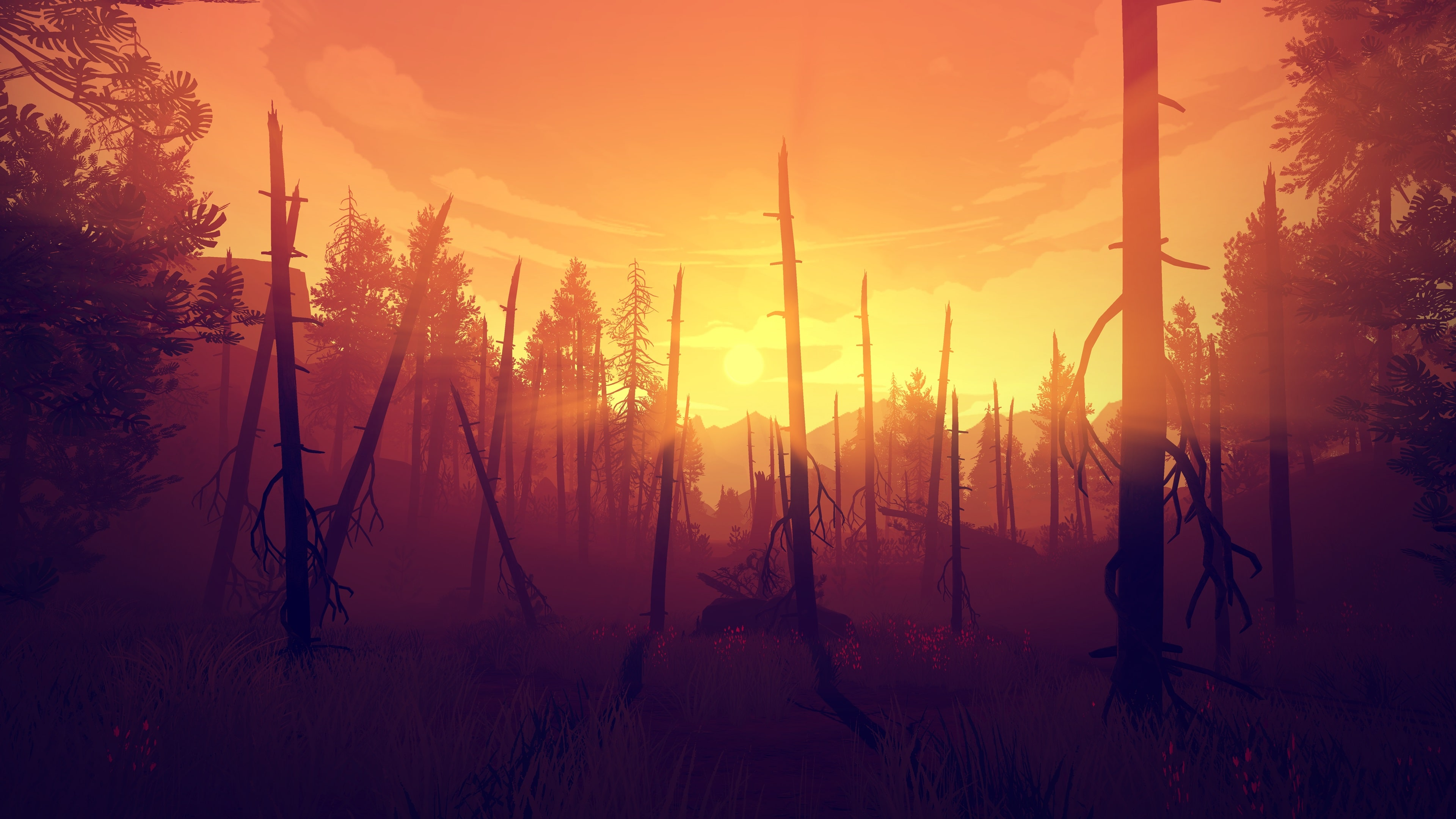 Firewatch Widescreen for desktop