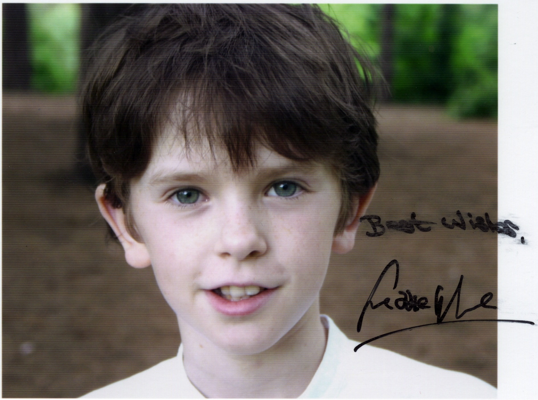Freddie Highmore Widescreen for desktop