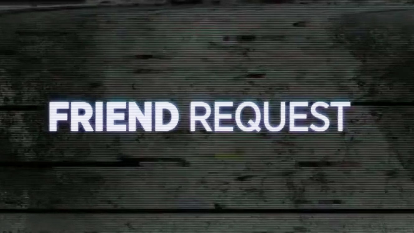 Friend Request widescreen for desktop