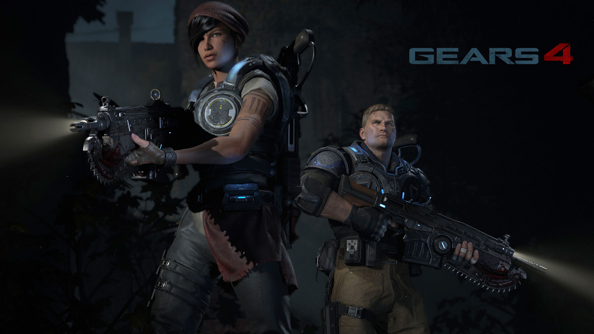 Gears of War 4 Widescreen for desktop