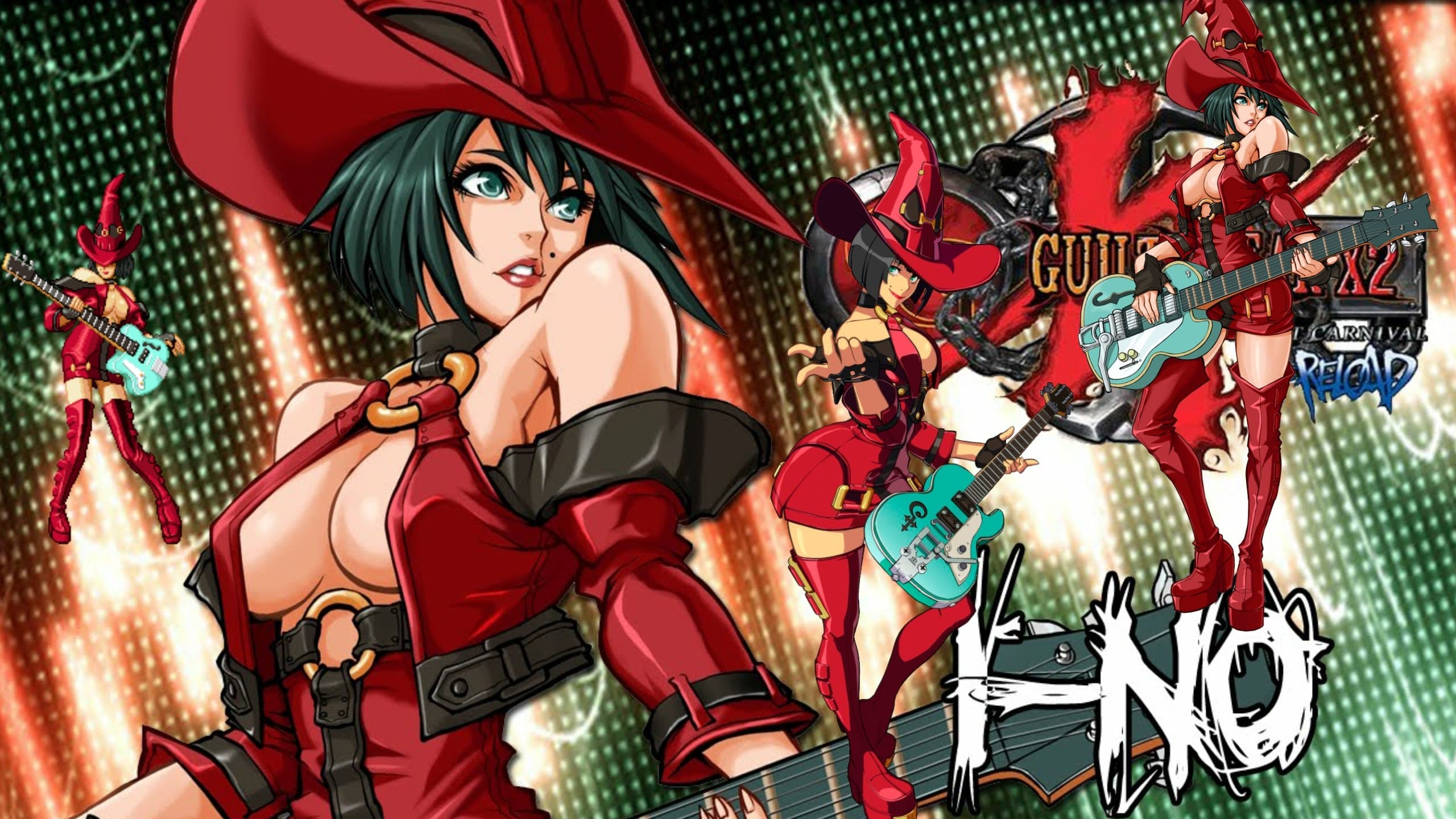 Guilty Gear: I-No Widescreen for desktop