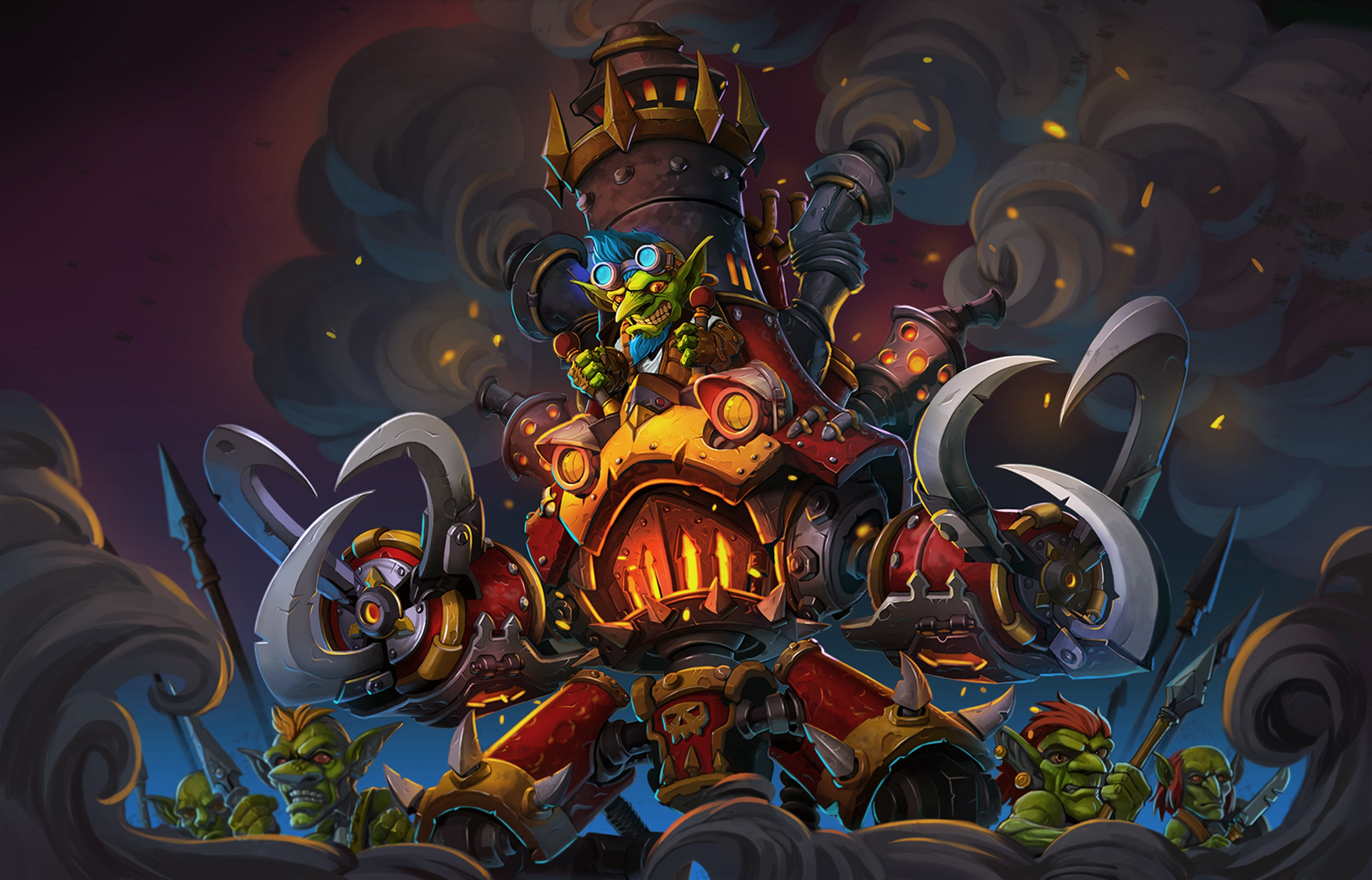 Hearthstone: Goblins Vs. Gnomes desktop wallpaper