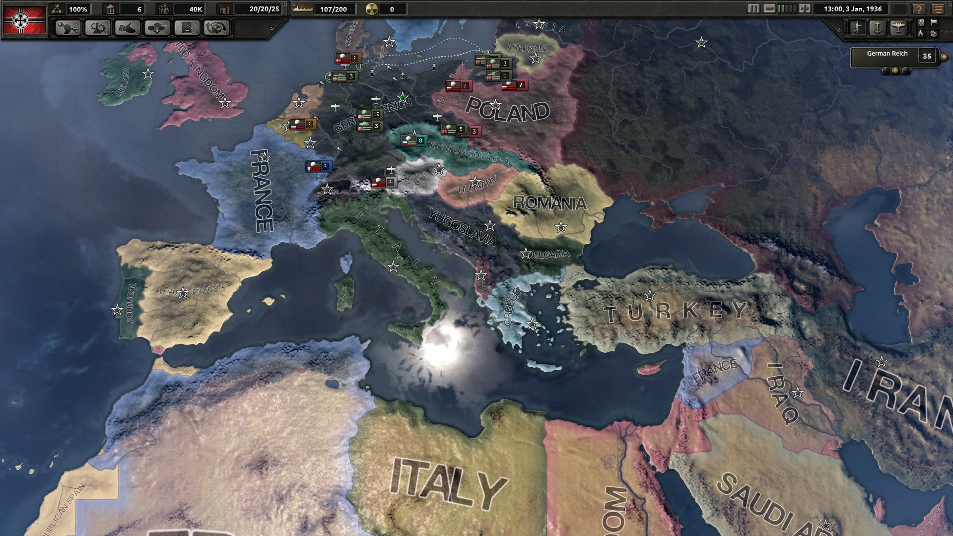 Hearts of Iron 4 Widescreen for desktop