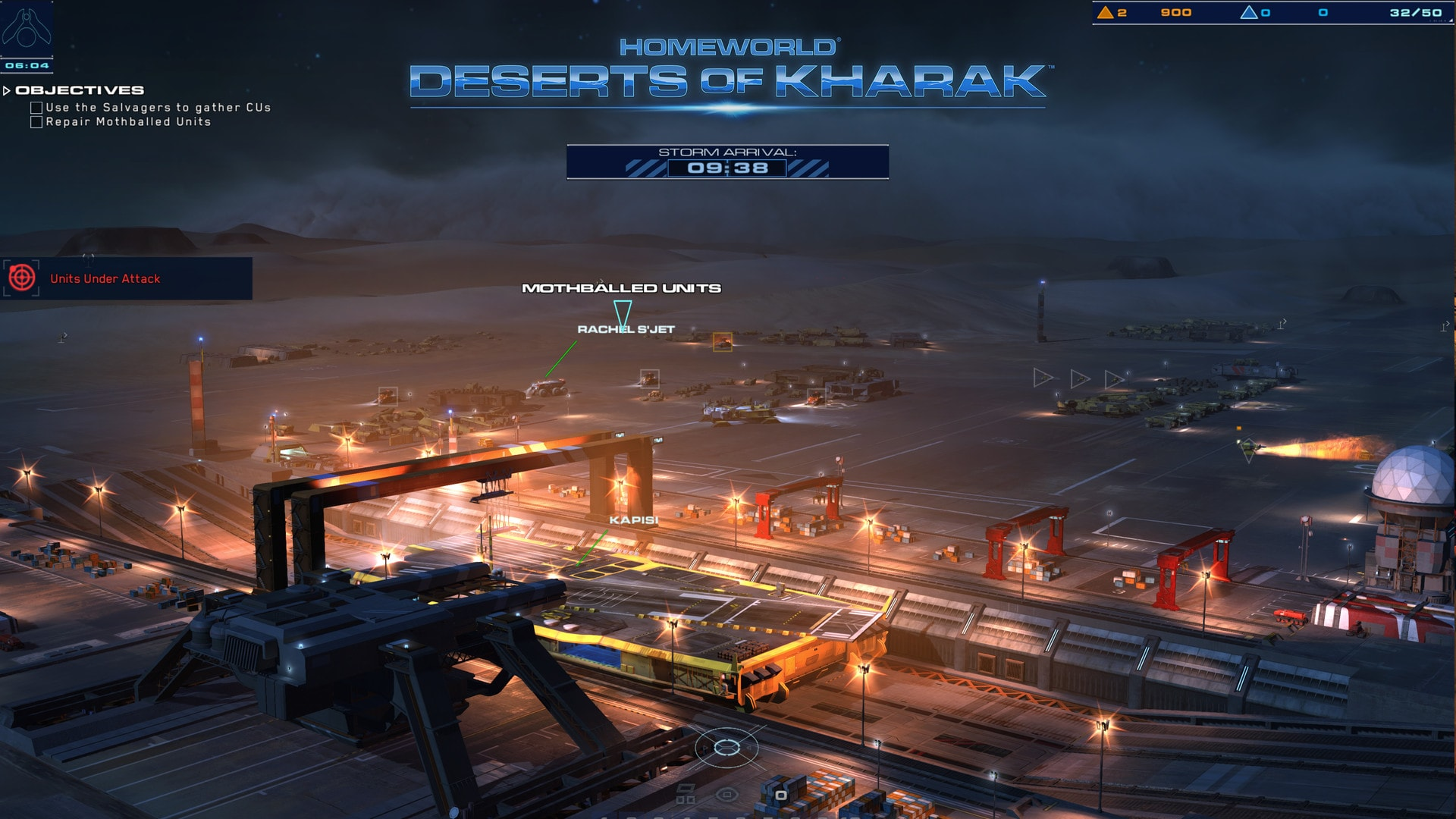 Homeworld: Deserts of Kharak Widescreen for desktop