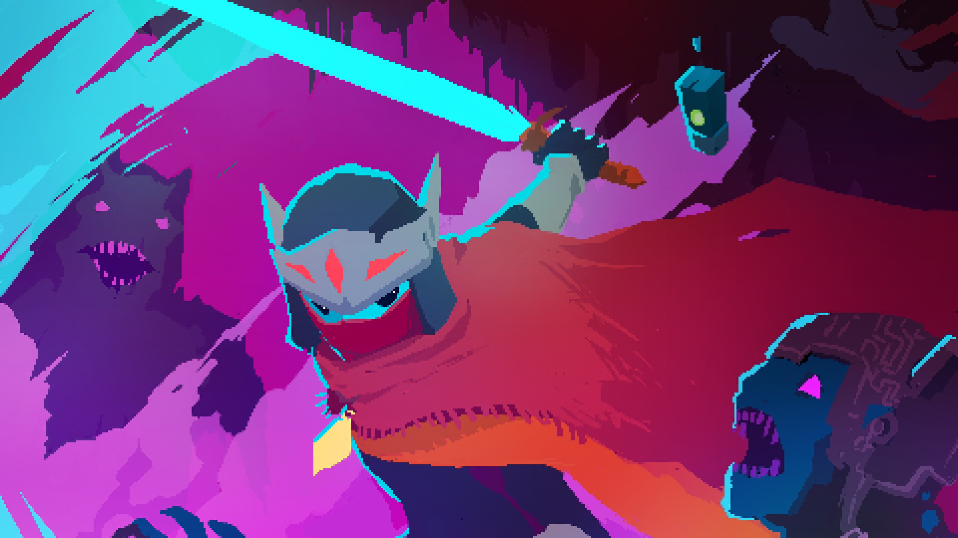 Hyper Light Drifter Widescreen for desktop