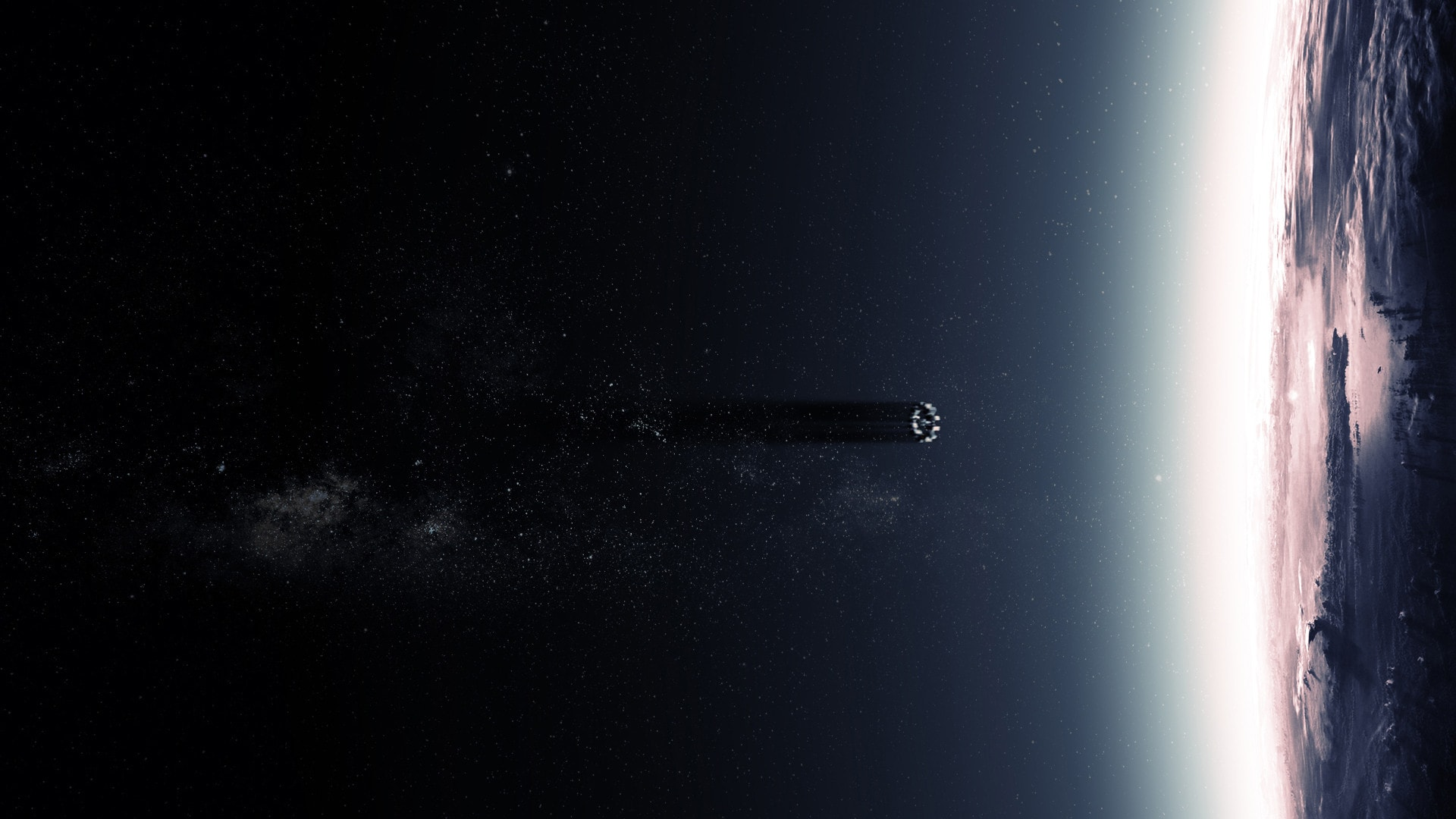 Interstellar widescreen for desktop